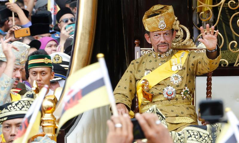 Brunei brings in stoning to death for gay sex, despite outcry