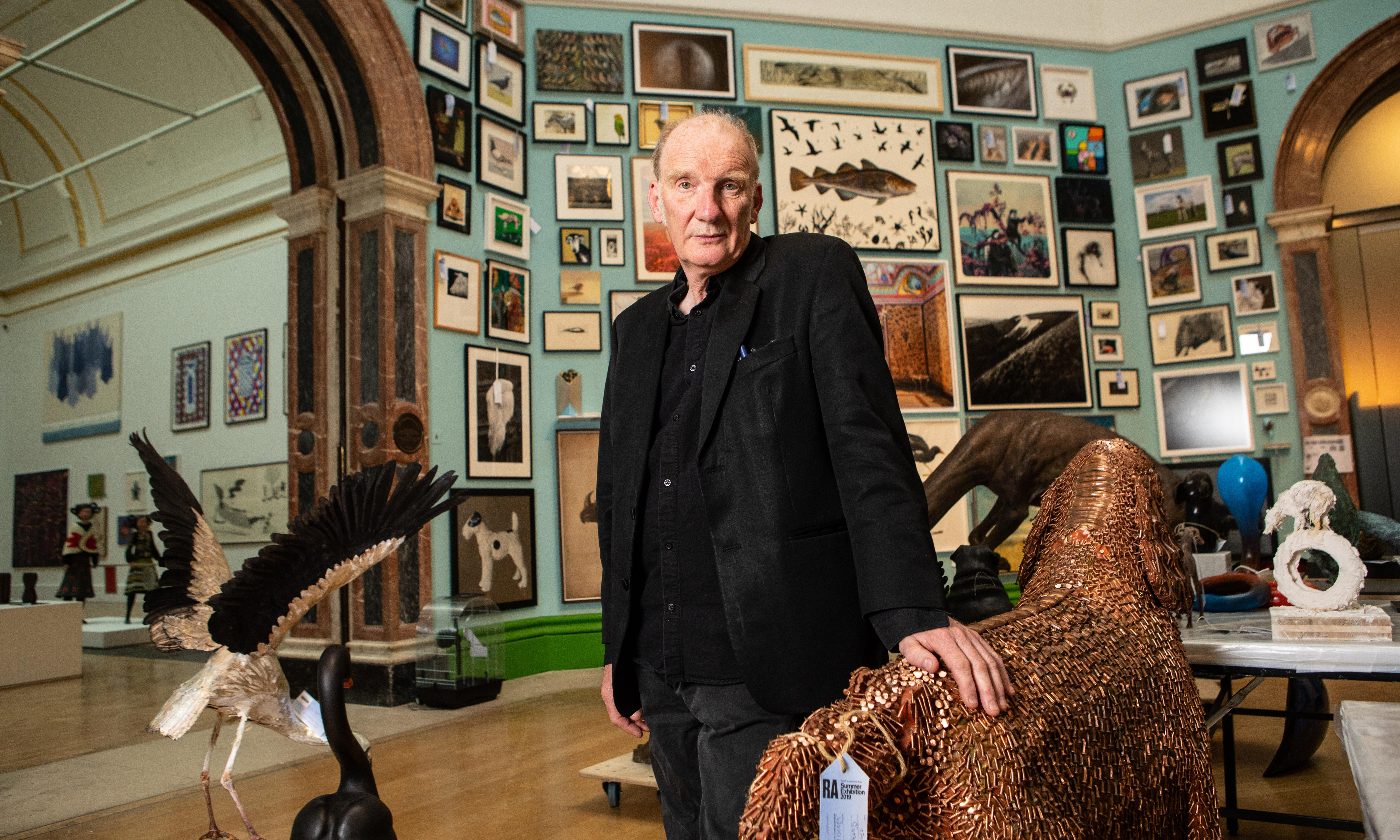 Jock McFadyen, the artist bringing the spirit of punk to the Royal Academy