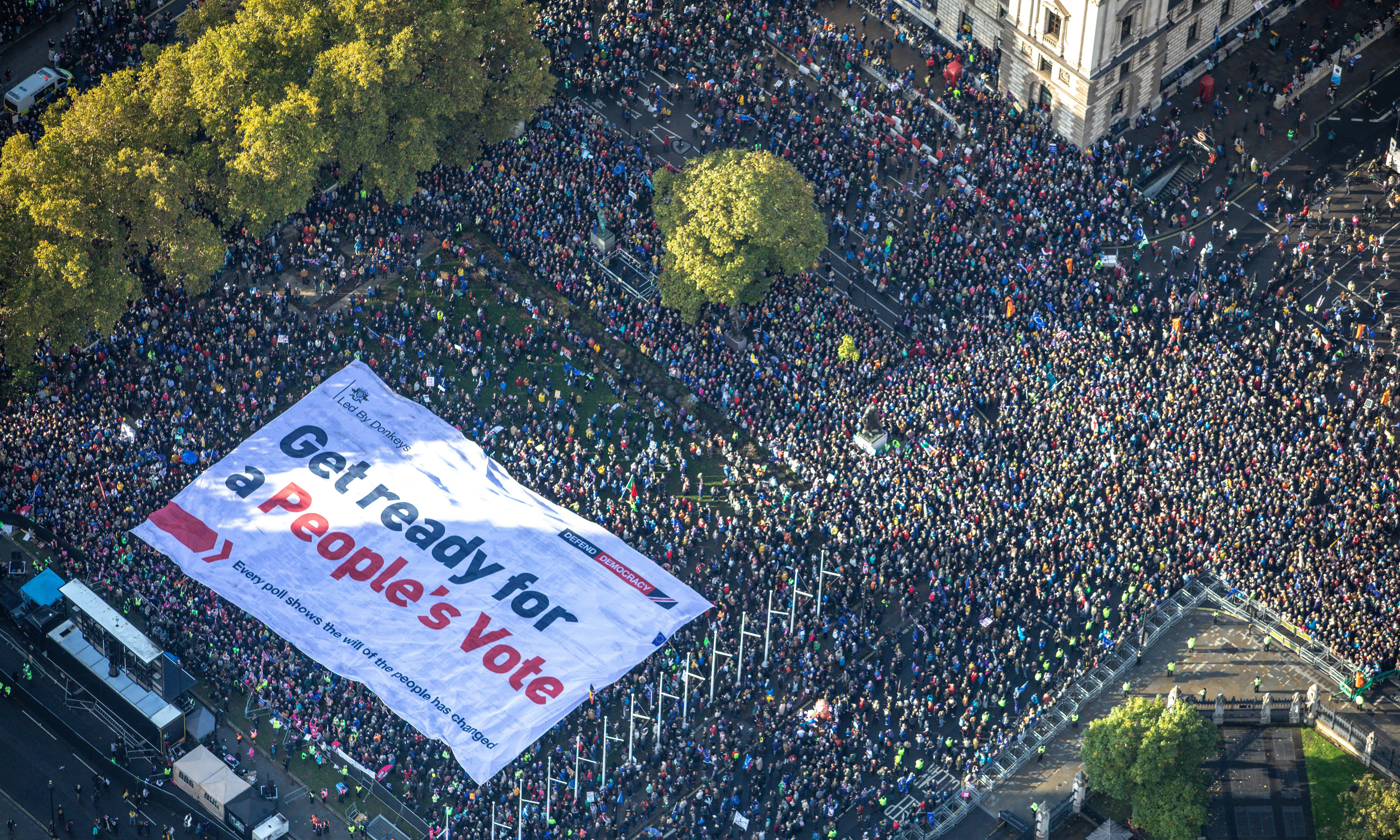 March organisers hail 'one of the greatest protest marches in British history'