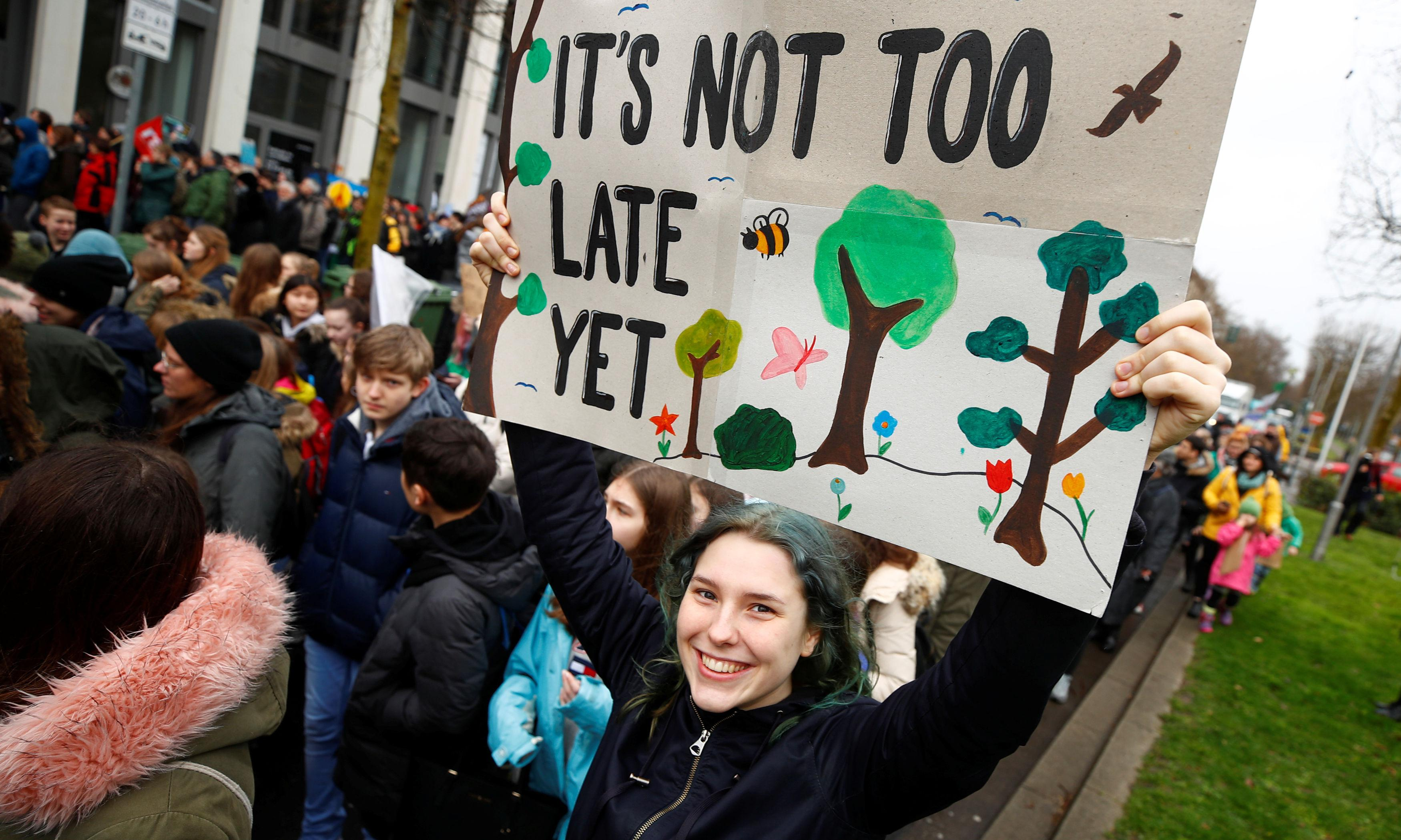 We are not yet doomed: the carbon cutters determined to save the world