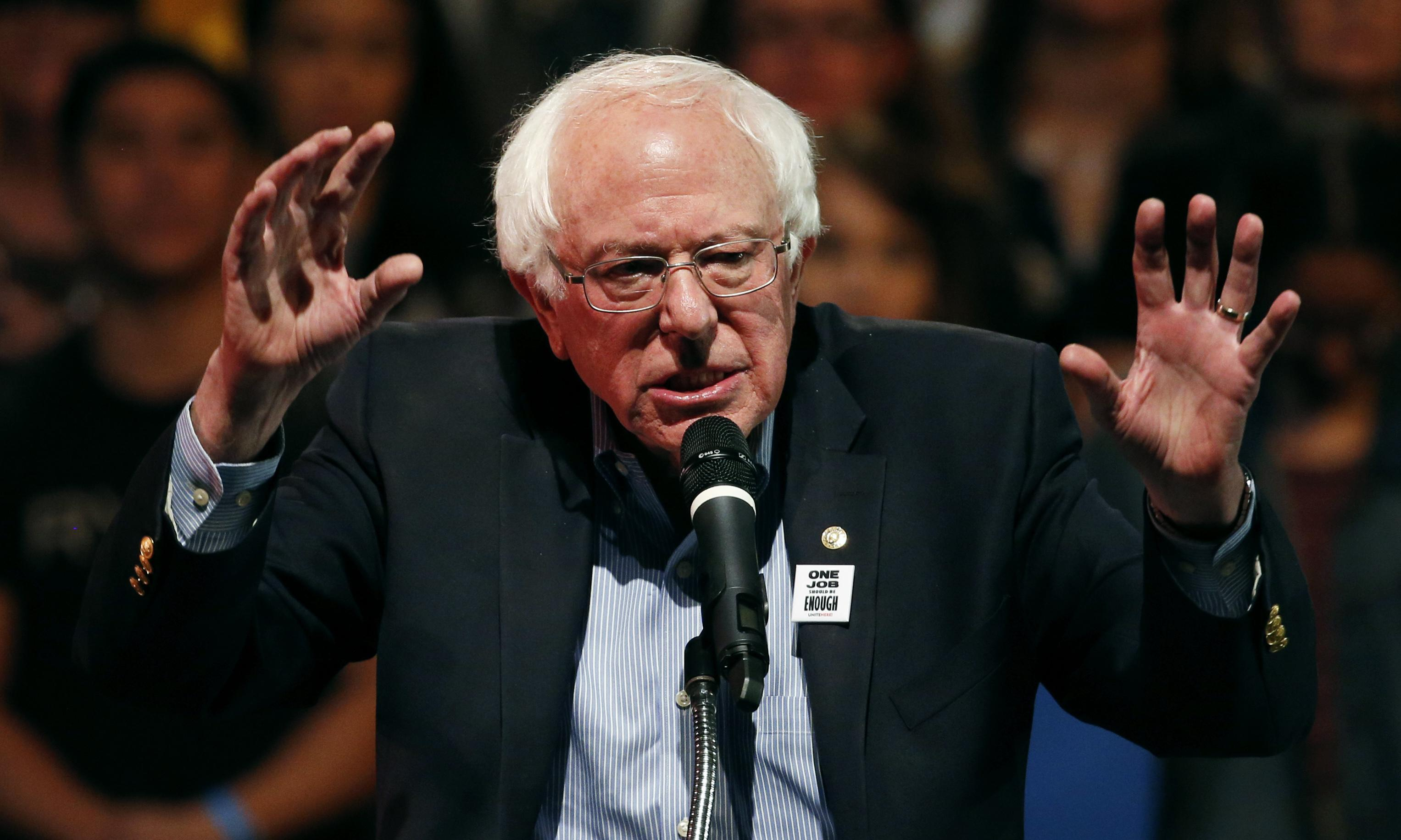 Bernie Sanders targets Walmart and takes aim at low wages and CEO