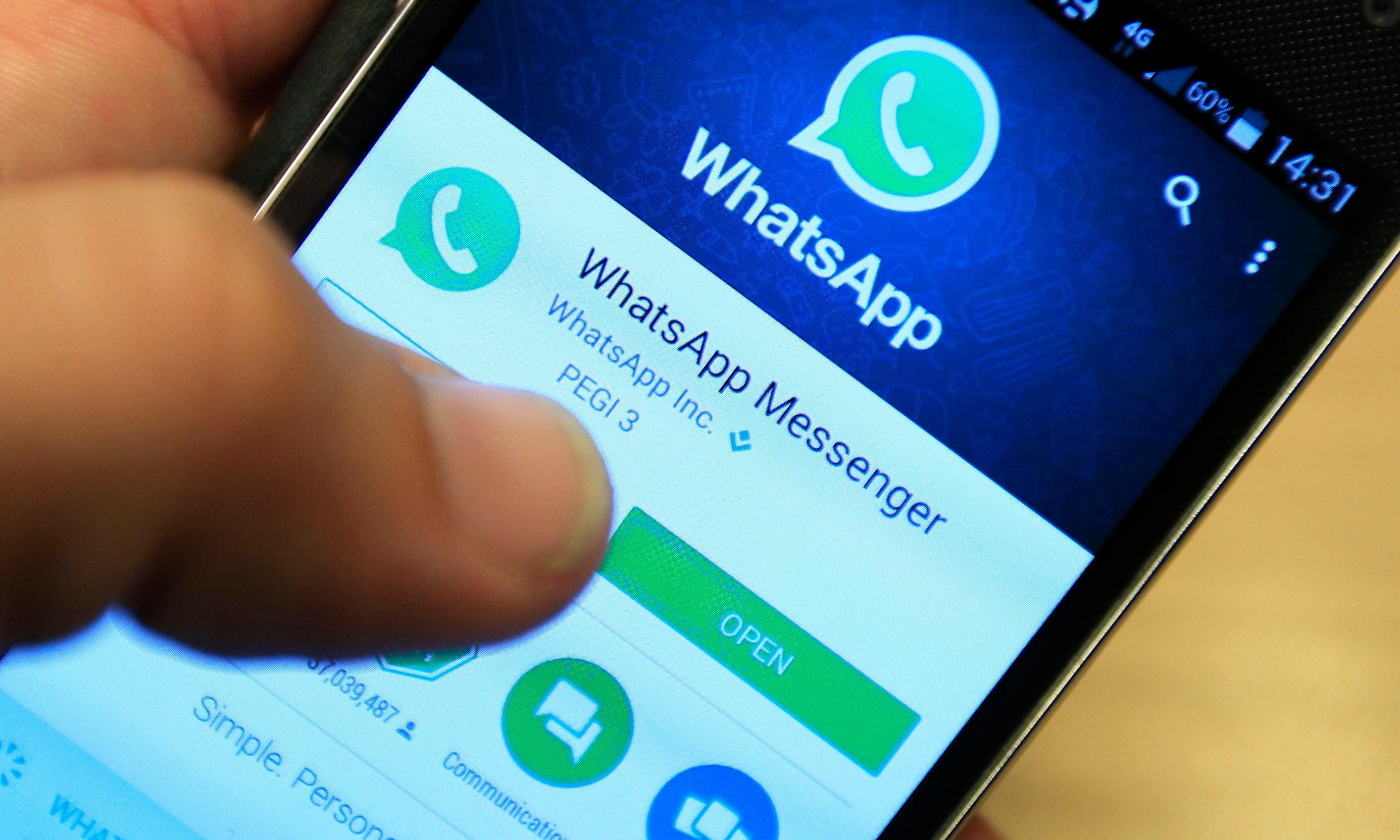 WhatsApp increasingly popular for sharing news