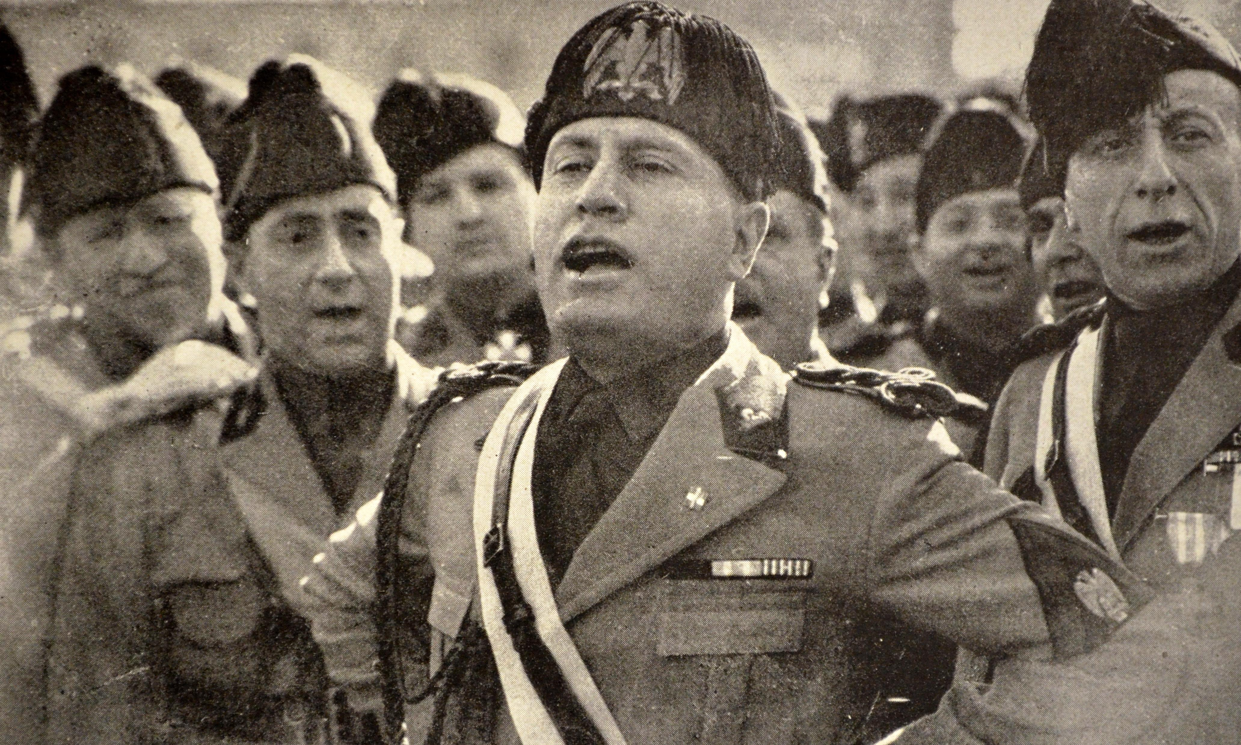 Mussolini as farmer – archive, 15 October, 1928