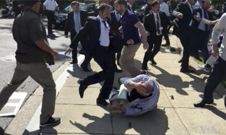 DC braces for Erdoğan's visit 18 months after bodyguards assaulted protesters