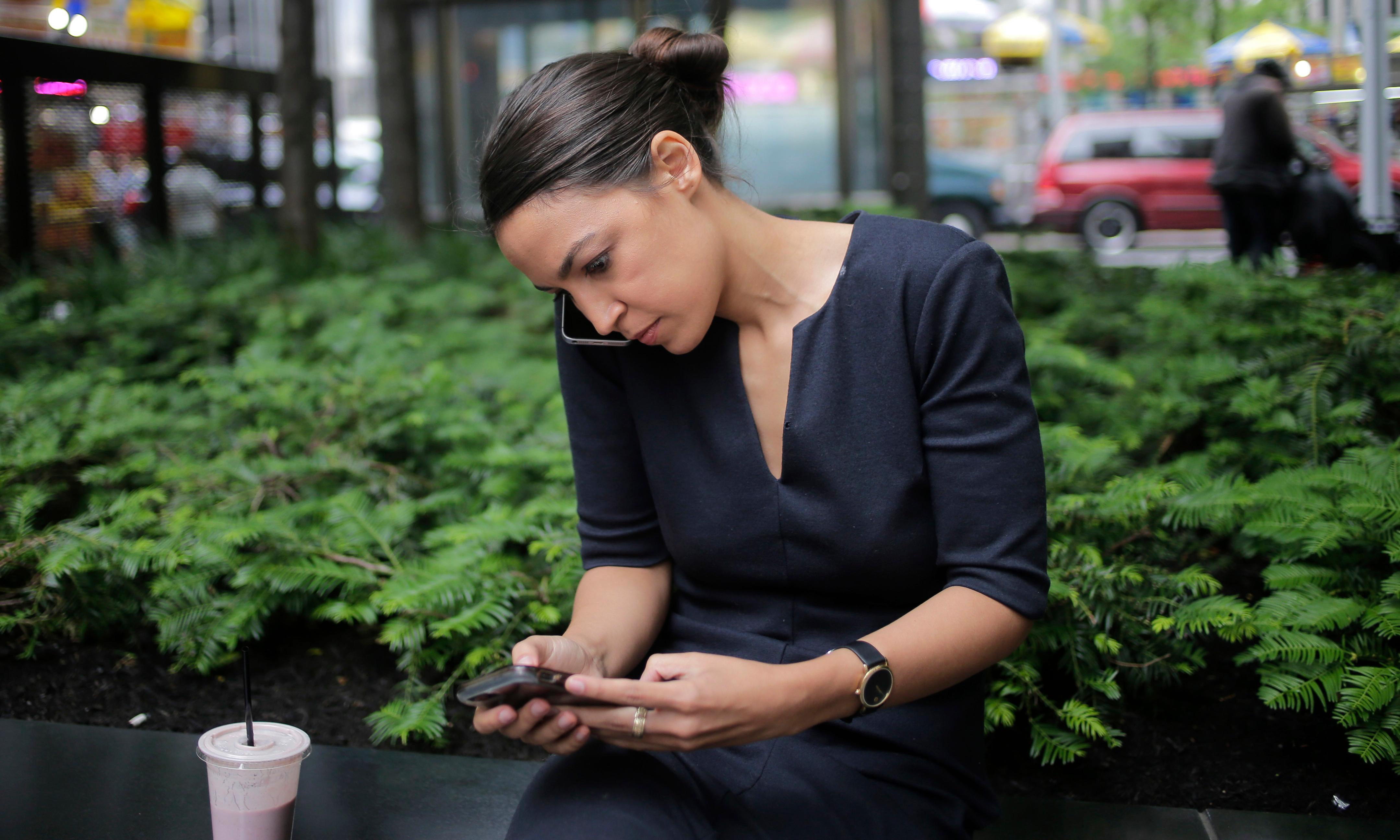 Ocasio-Cortez sued by rightwing critics for blocking them on Twitter