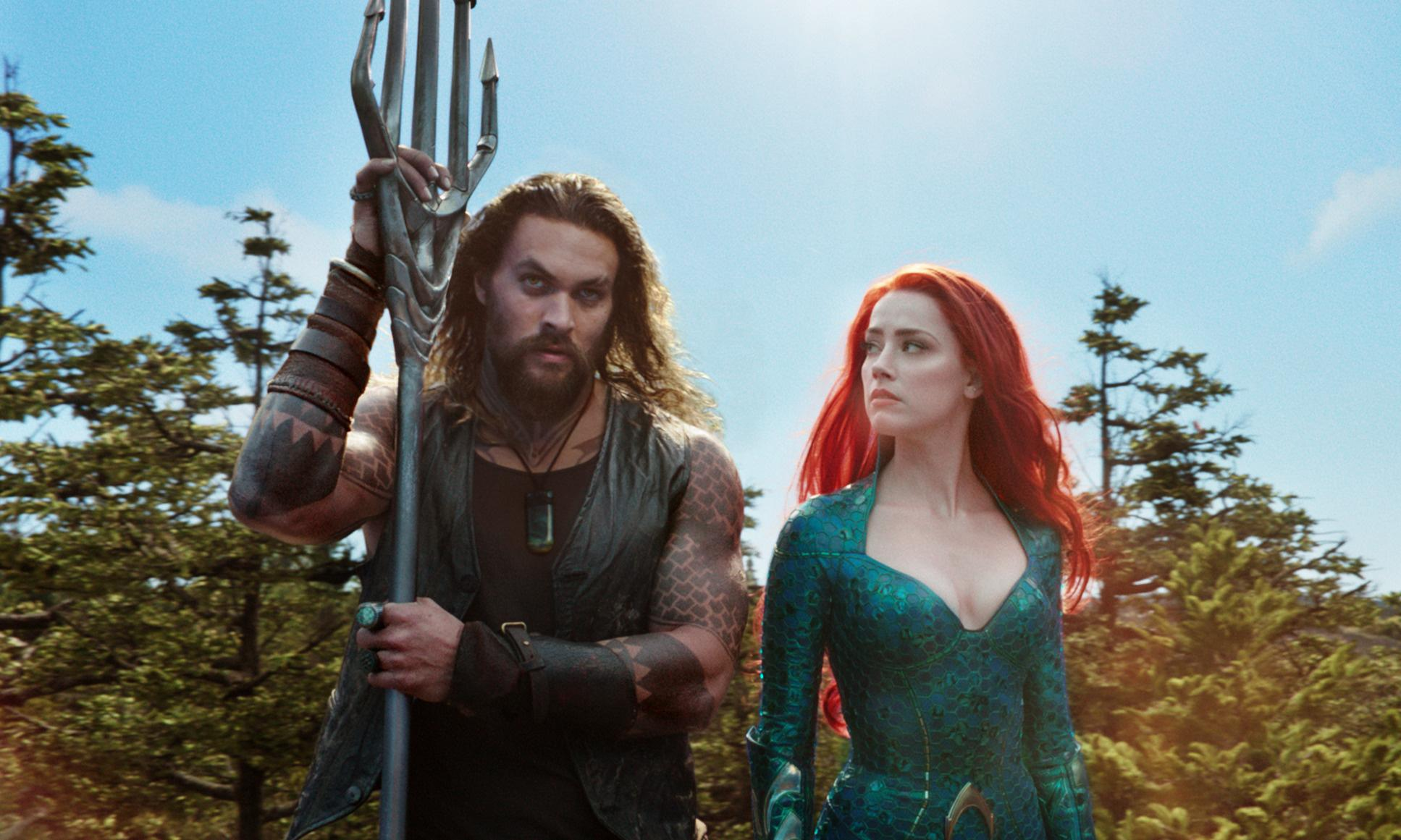 Aquaman review – another hulking hero in search of a throne