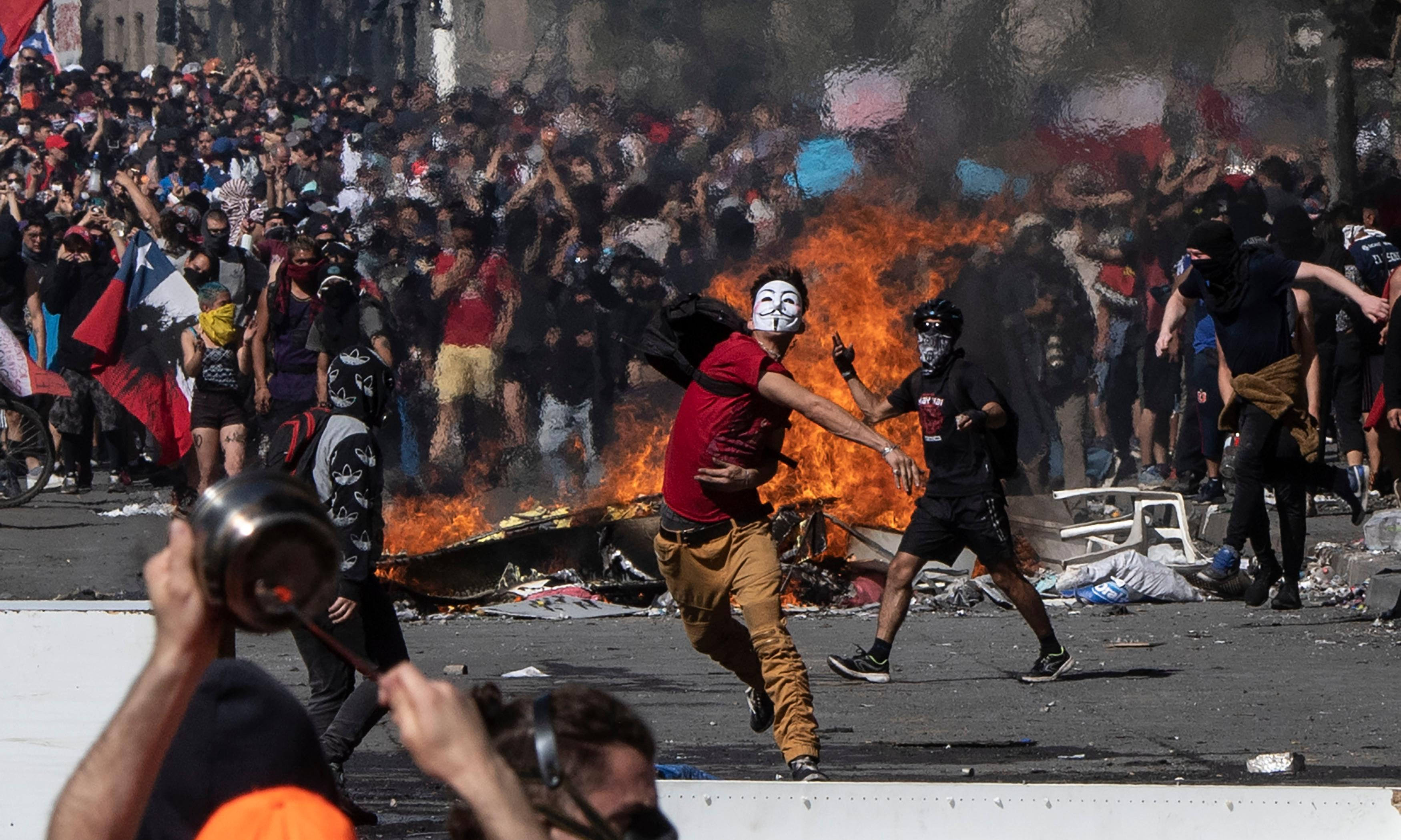 An explosion of protest, a howl of rage – but not a Latin American spring