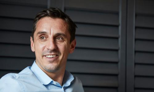 Former Manchester United footballer-turned-property developer Gary Neville will take part in The Great Debate at Design Manchester.