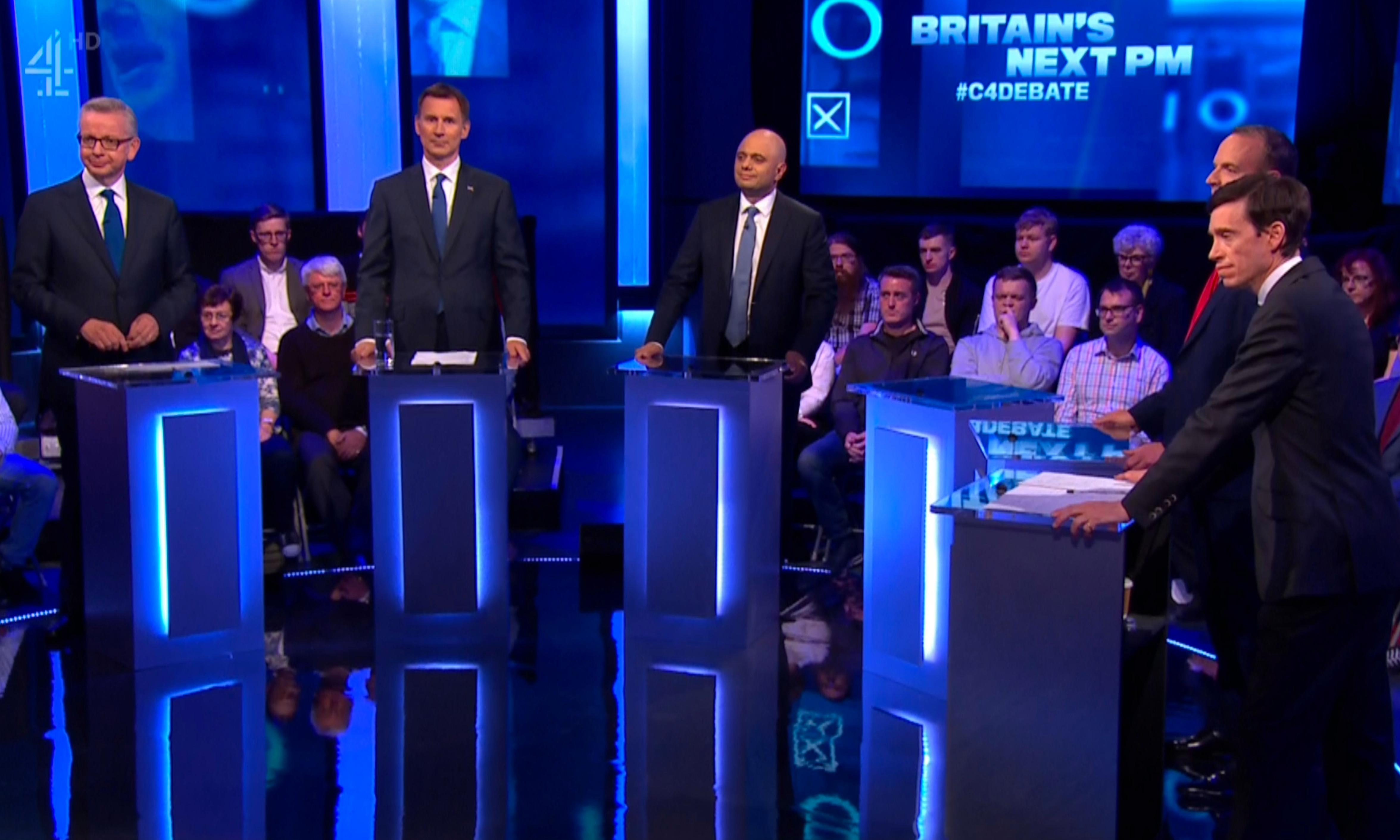 Who were the winners and losers of the Tory leadership debate?