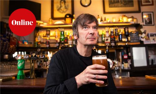 Crime writer Ian Rankin in The Oxford Bar Edinburgh. Edinburgh, Scotland UK 14/09/2018 © COPYRIGHT PHOTO BY MURDO MACLEOD