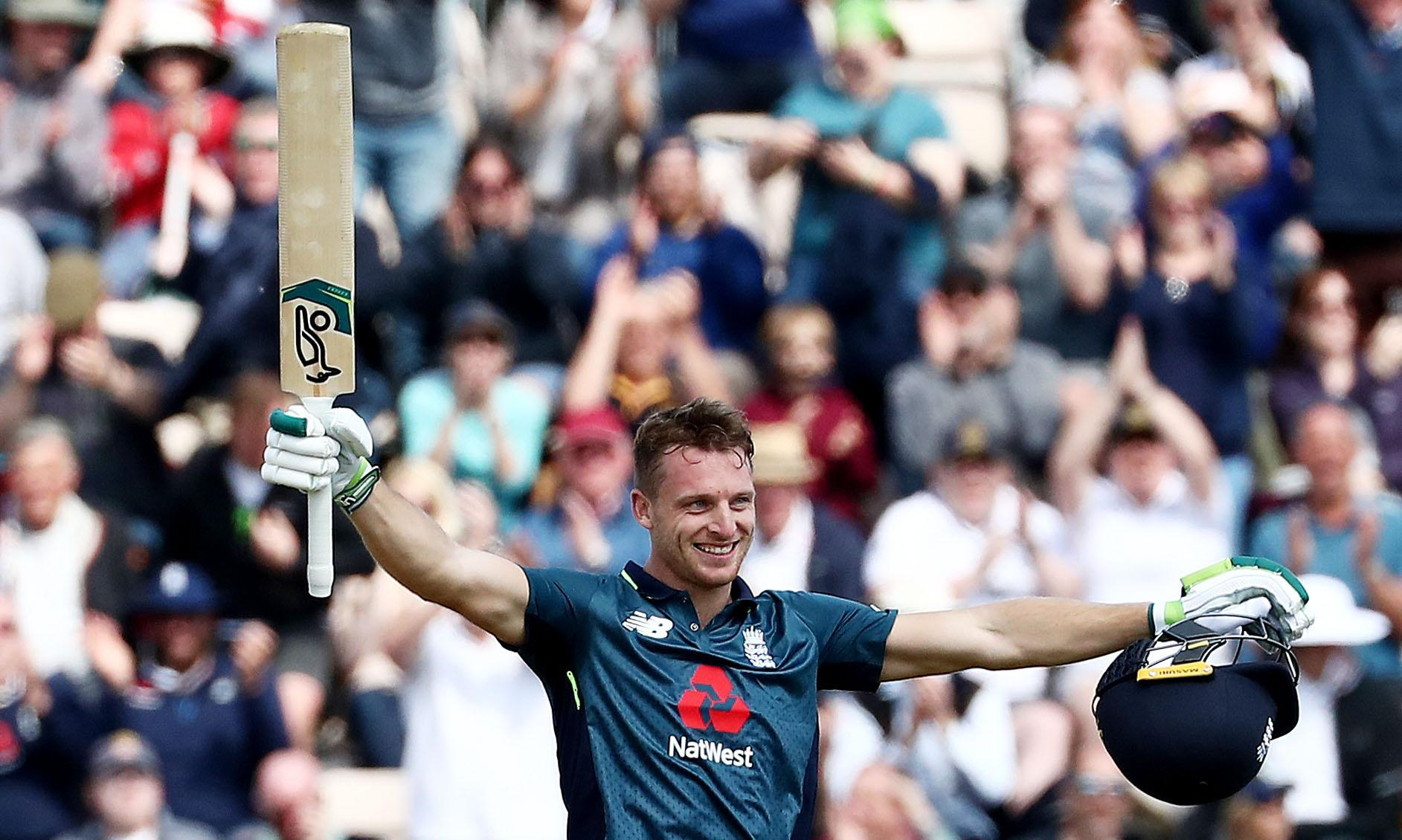 Jos Buttler's 50-ball century takes England past Pakistan in second ODI