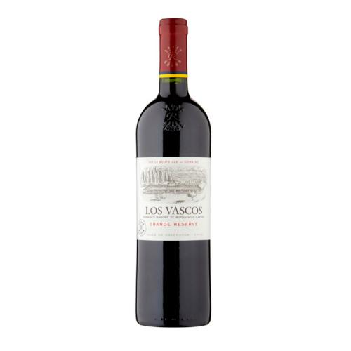 Los Vascos Grande Reserve 2014: Chile's answer to bordeaux, made by the Bordelais.
