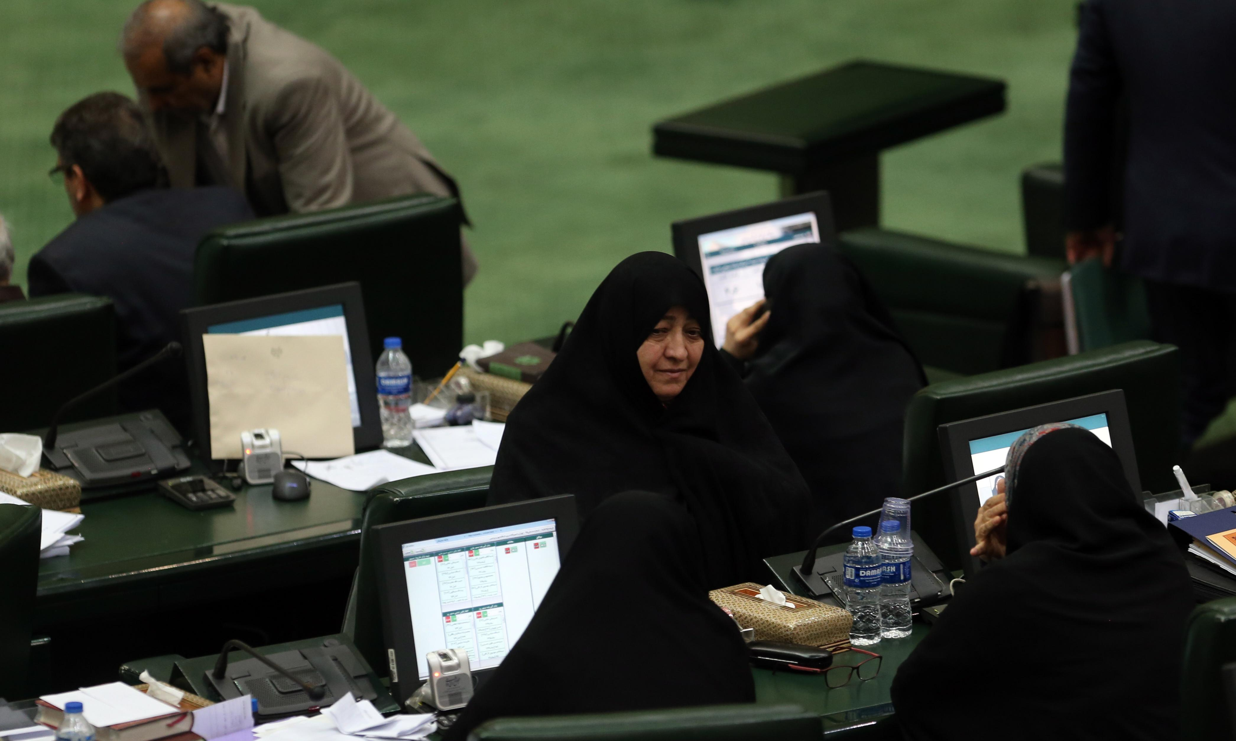 Iran parliament brands US troops in Middle East as terrorist