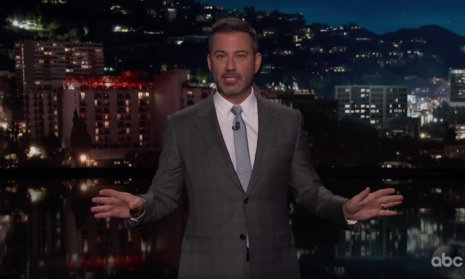 Jimmy Kimmel: 'Impeachment is a good way to distract Donald Trump'