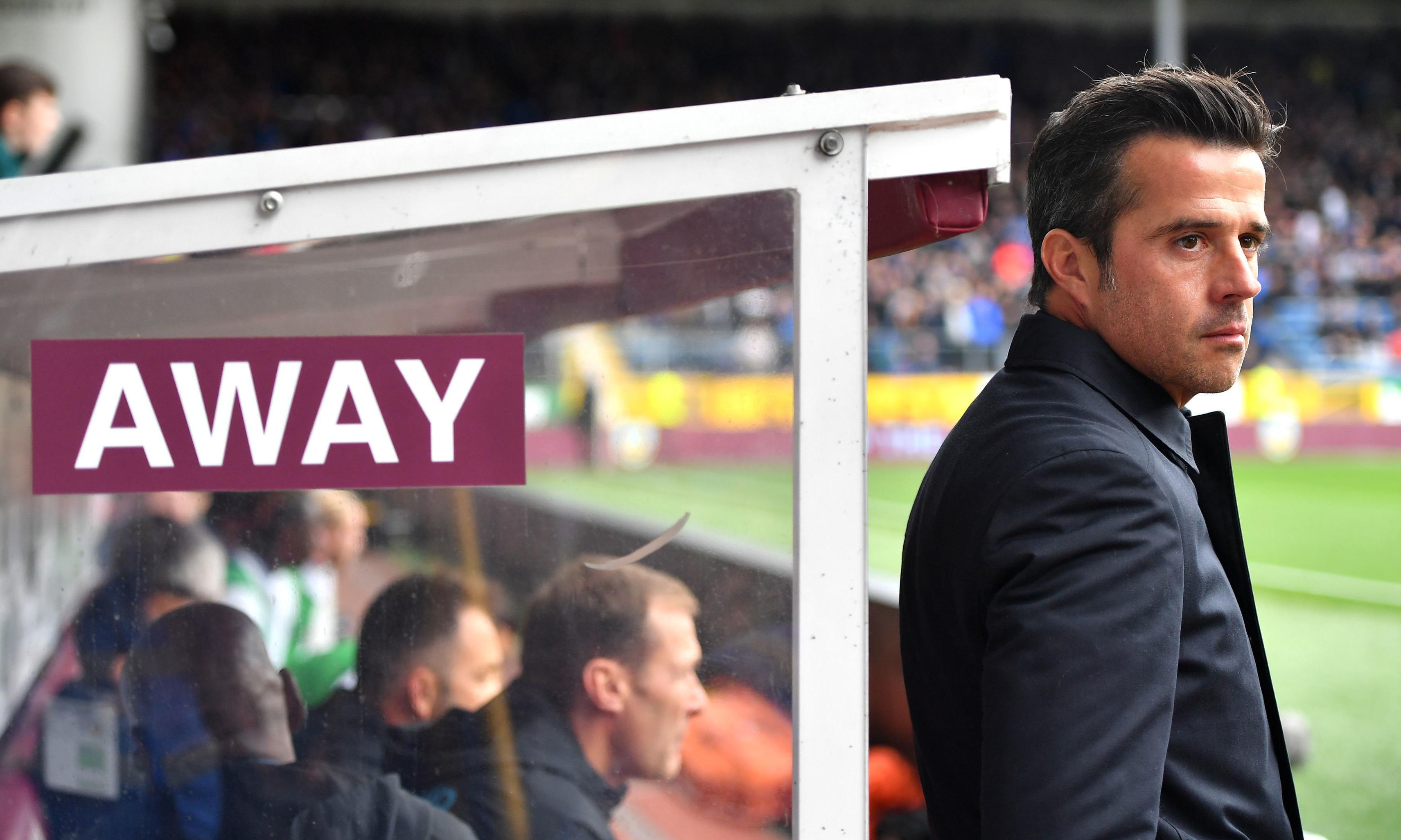 Marco Silva shuffles towards the Everton abyss despite spending big