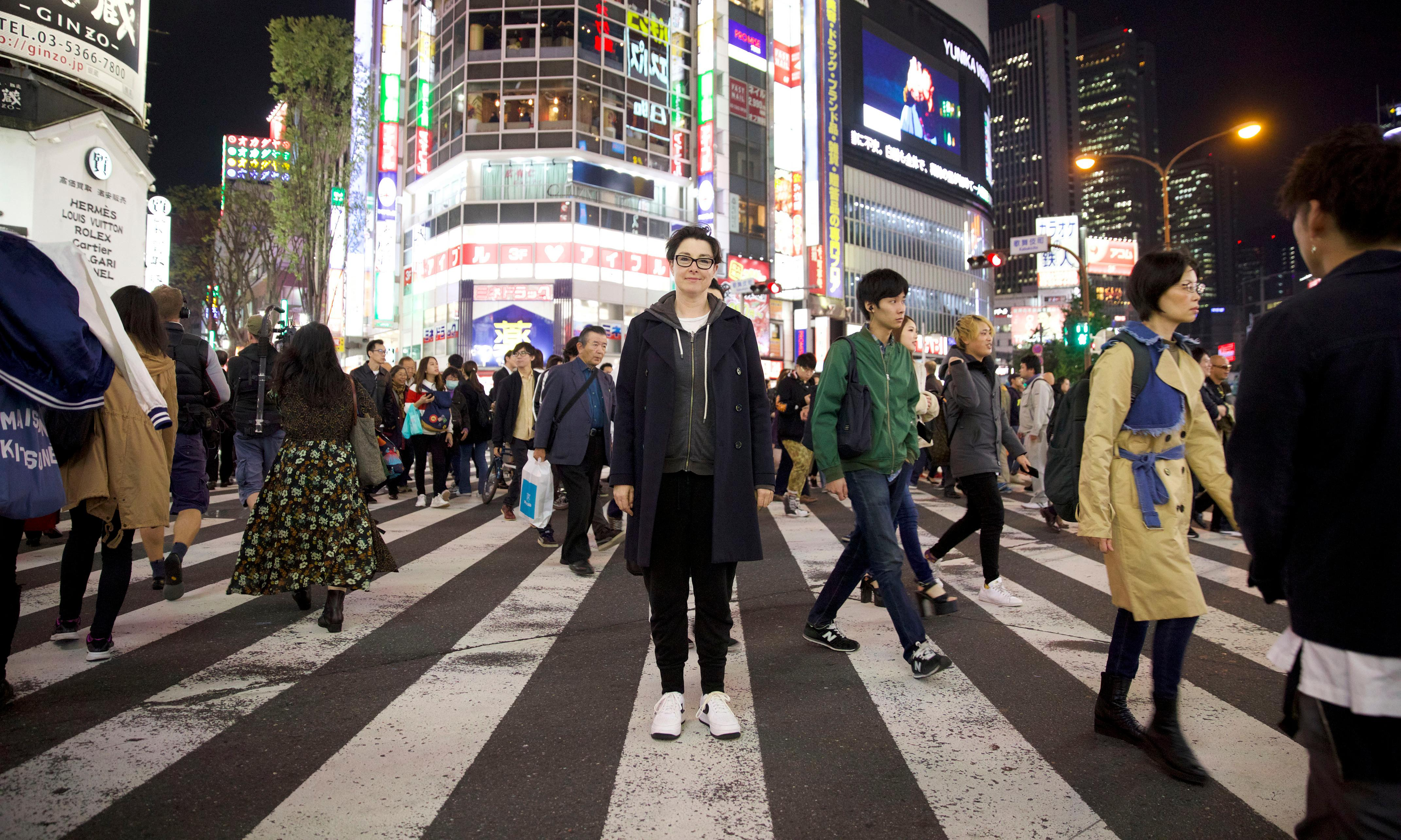 TV tonight: Sue Perkins heads to Japan for a spot of sumo training