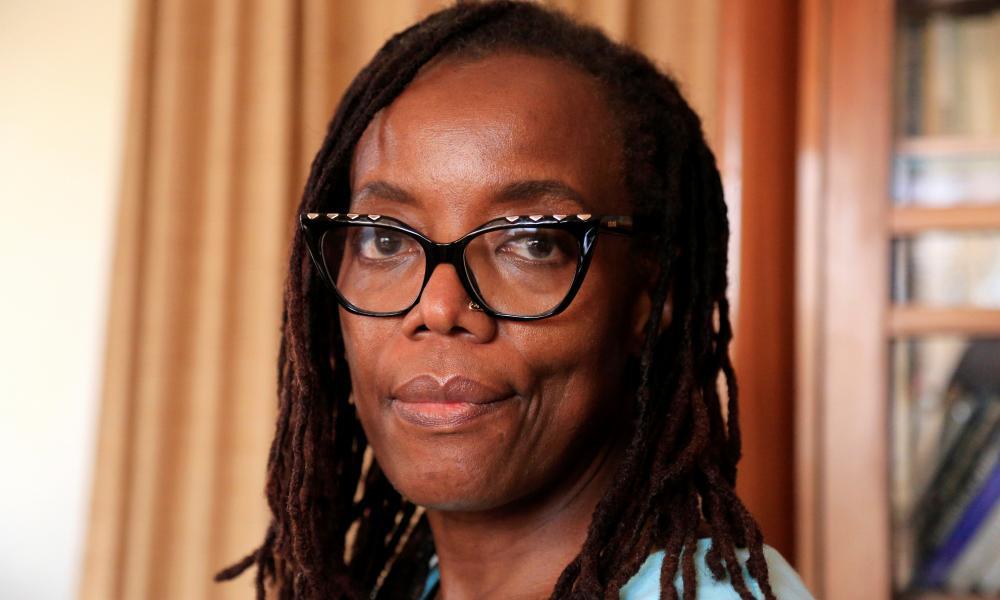 The Zimbabwean novelist Tsitsi Dangarembga