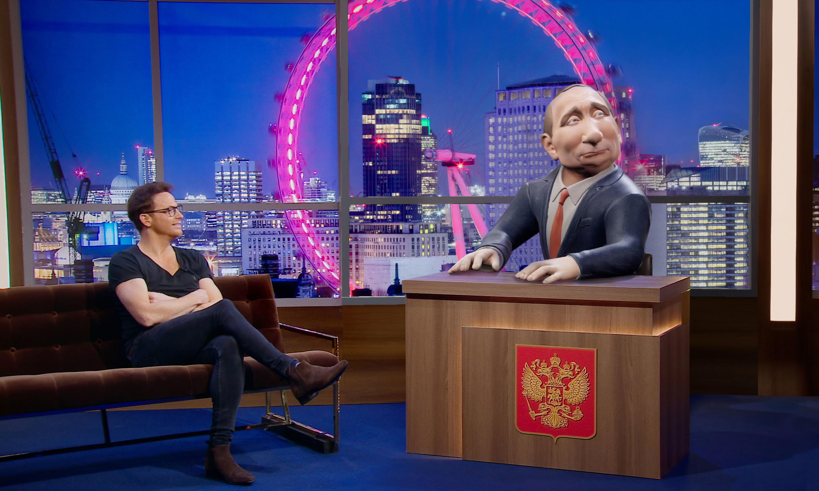 TV tonight: Vladimir Putin turns chatshow host ... sort of