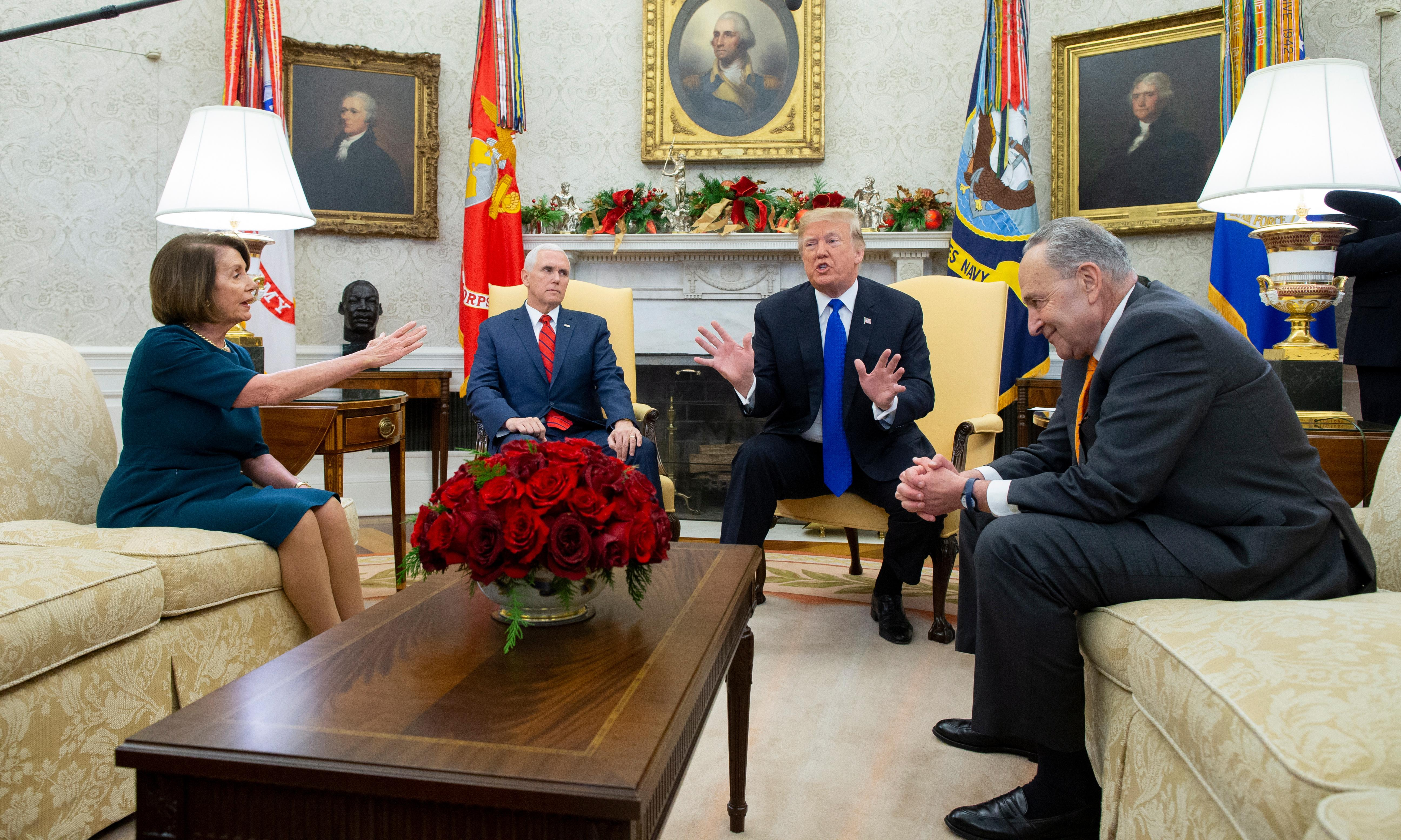 Tuesday US briefing: Shutdown looms as border wall impasse continues