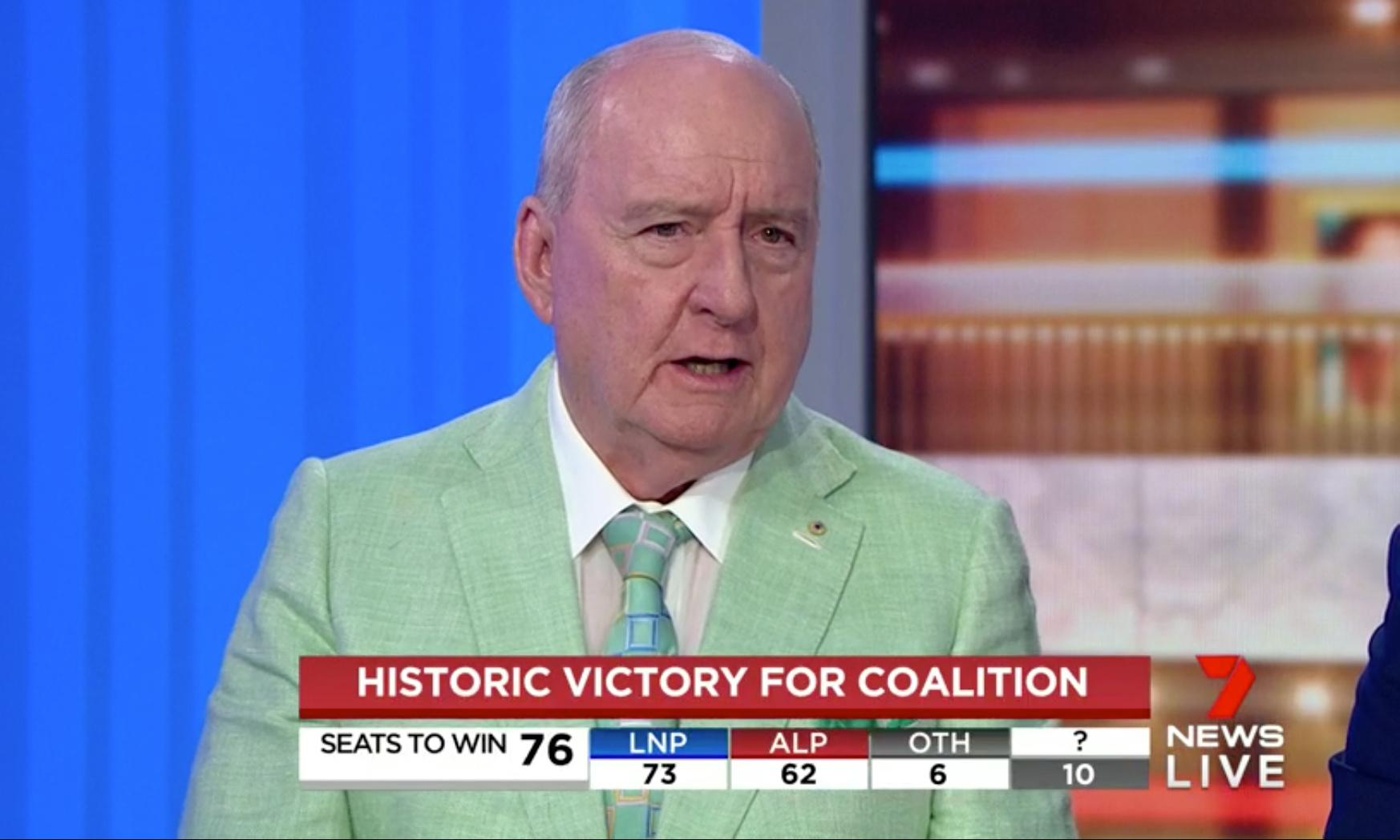 Alan Jones, killer canaries and Abbott's 'dark forces': how the election unfolded on TV