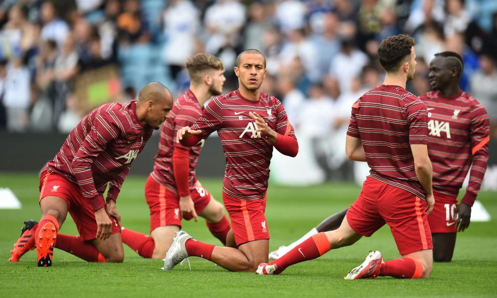 Liverpool's Thiago Alcantara