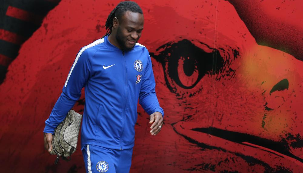 Chelsea's Victor Moses.