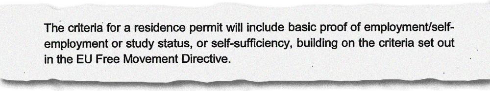 p6 - residence permit criteria