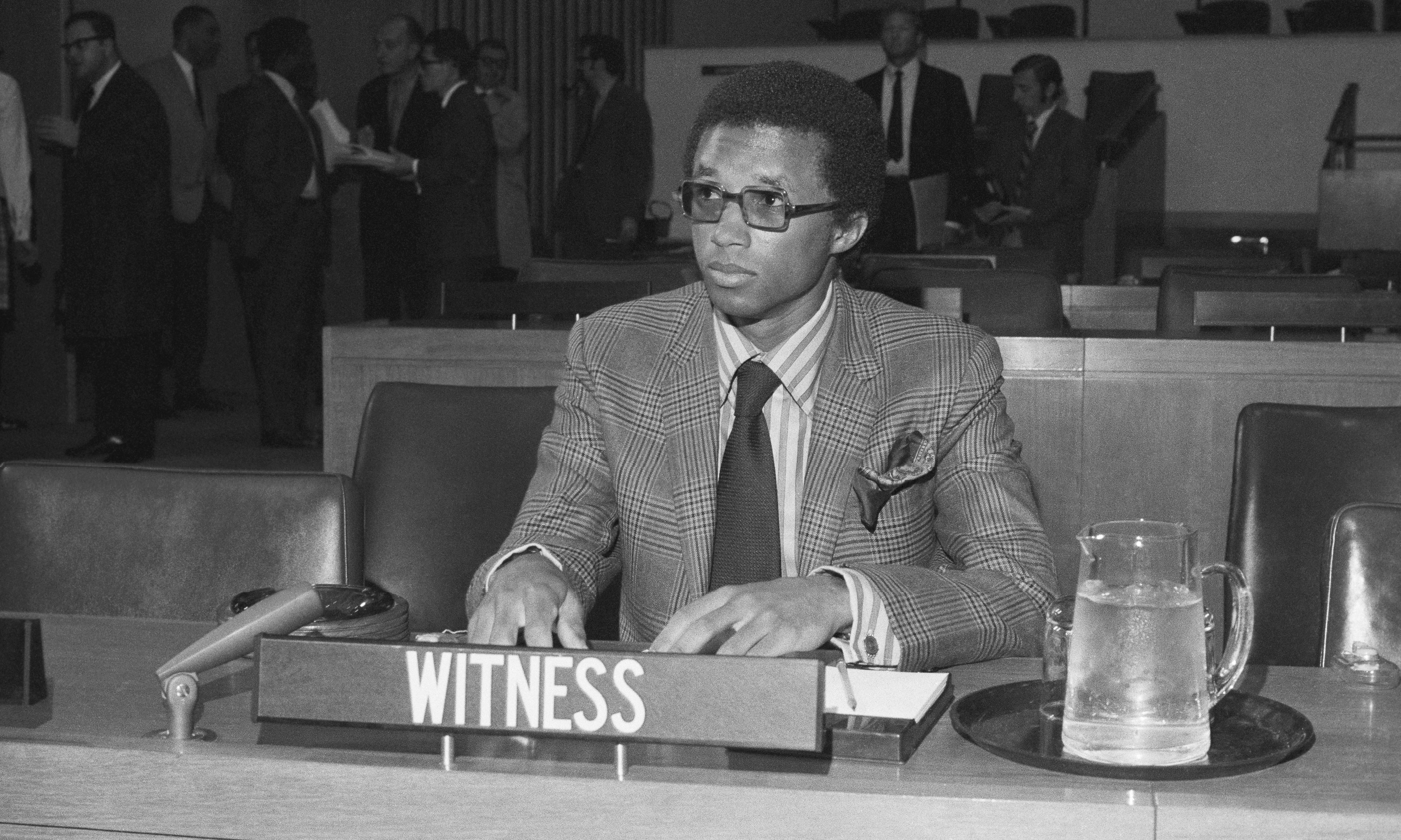 Arthur Ashe's real legacy was his activism, not his tennis