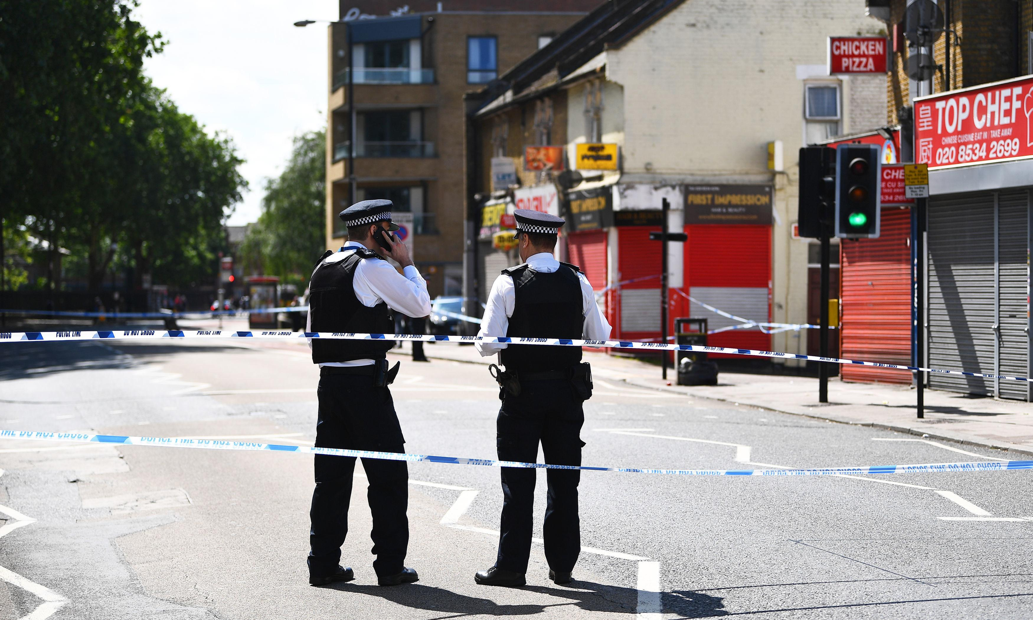 'There's more knife crime, more drugs': east London frustration at latest stabbing