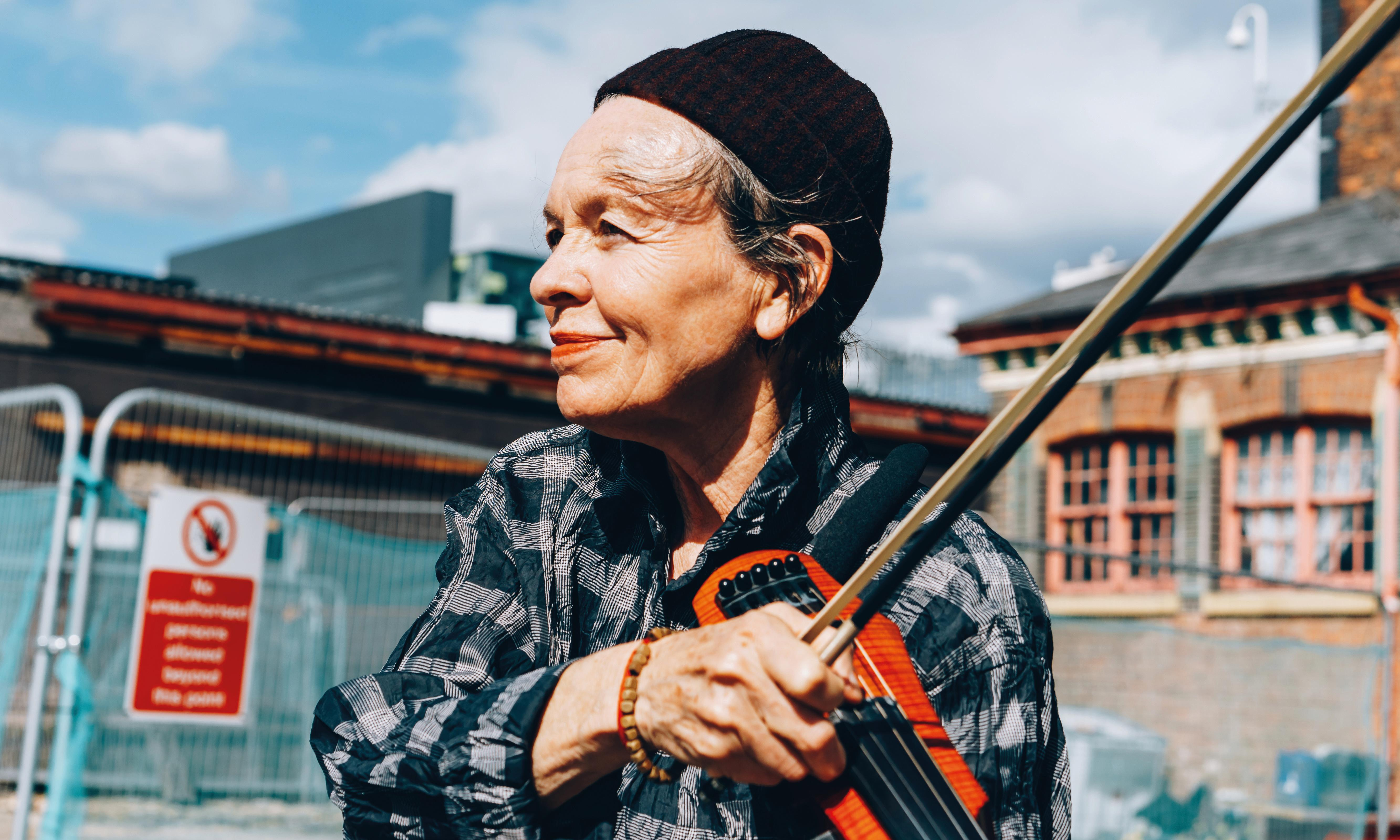 Laurie Anderson: 'It's a great time to be creating new realities'