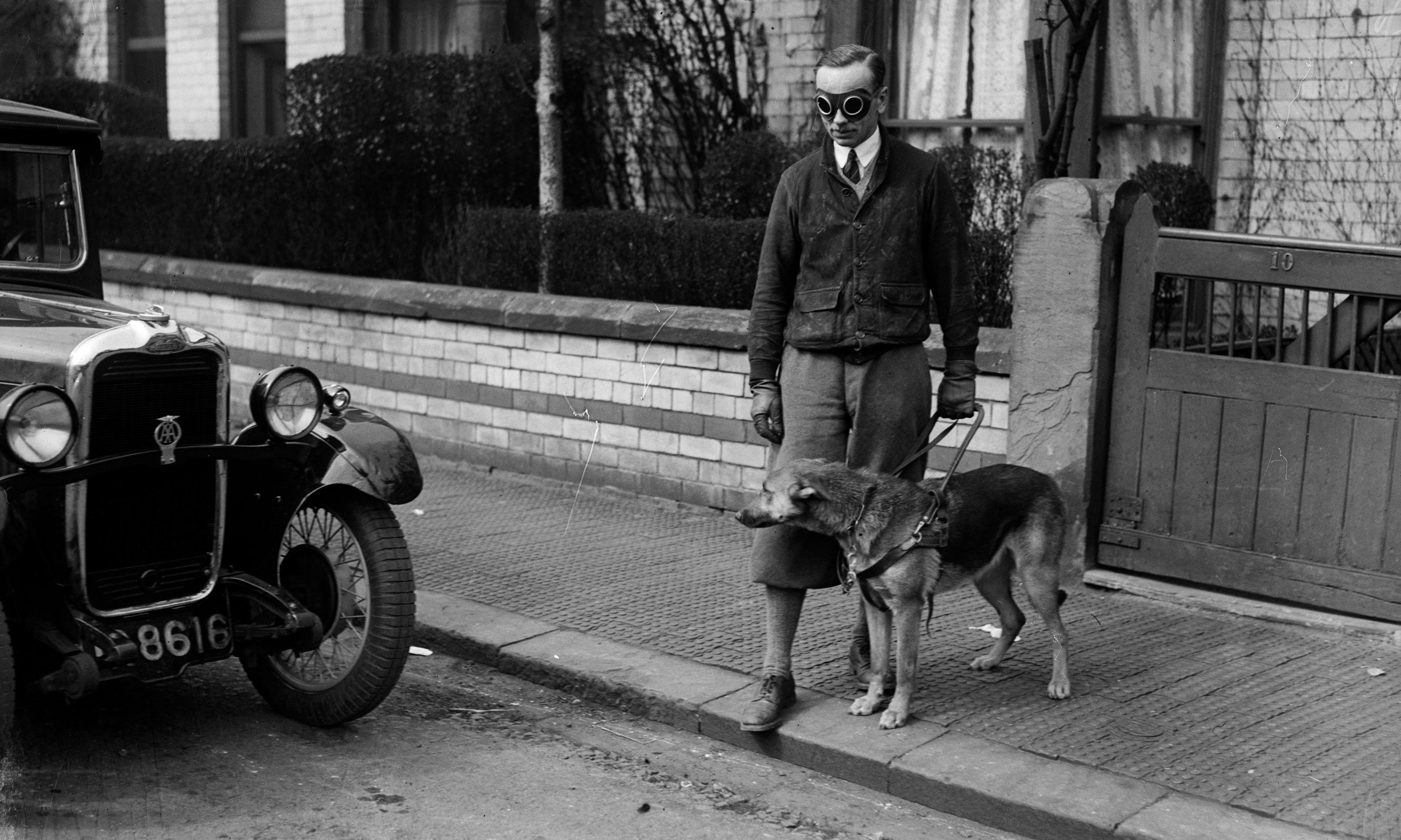 Call to train British guide dogs – archive, 8 October 1934