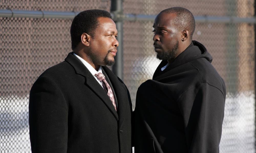 Wendell Pierce and Michael Kenneth Williams in season four, seen by many as the show's high point.