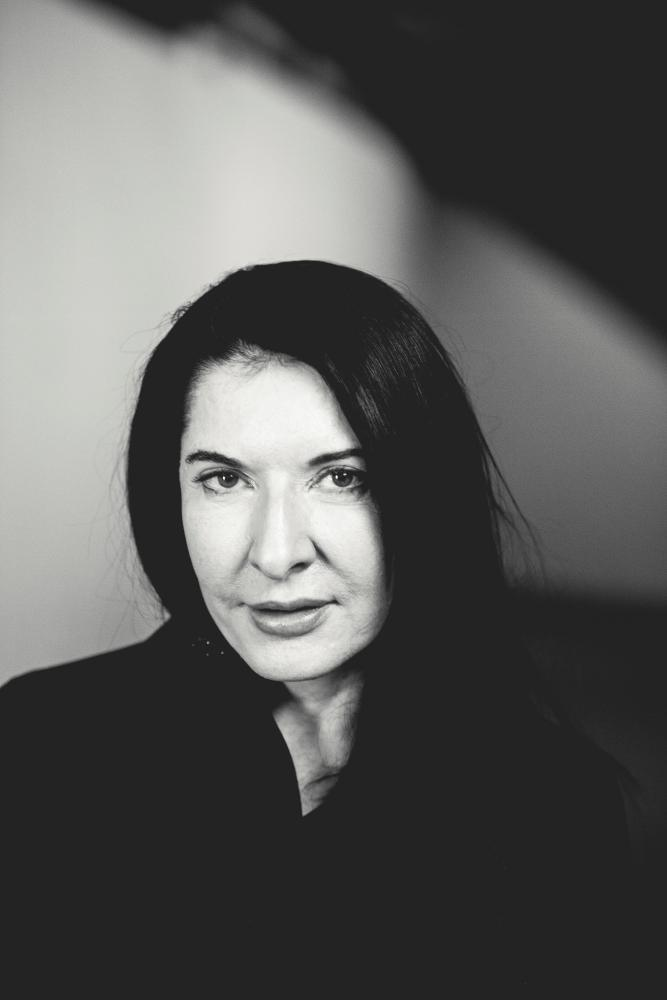 Marina Abramovic portrait, Nils Müller and Wertical, 2014