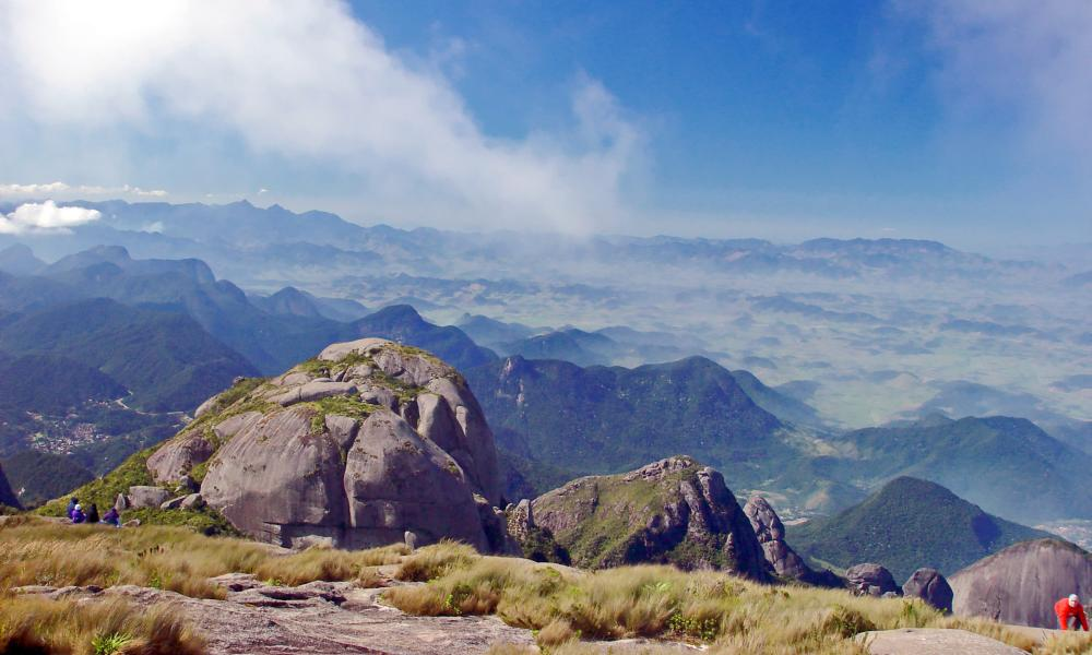 Serra dos Órgãos mountain range, Petropolis, Rio de Janeiro state, Brazil