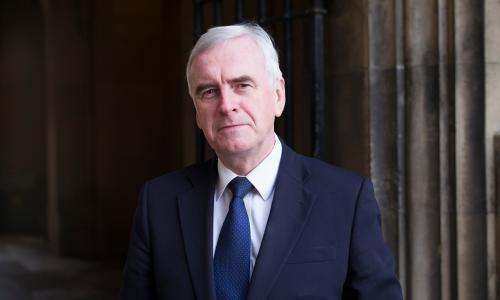 MARCH  2017: LONDON: MP John McDonnell. (Photography by Graeme Robertson)