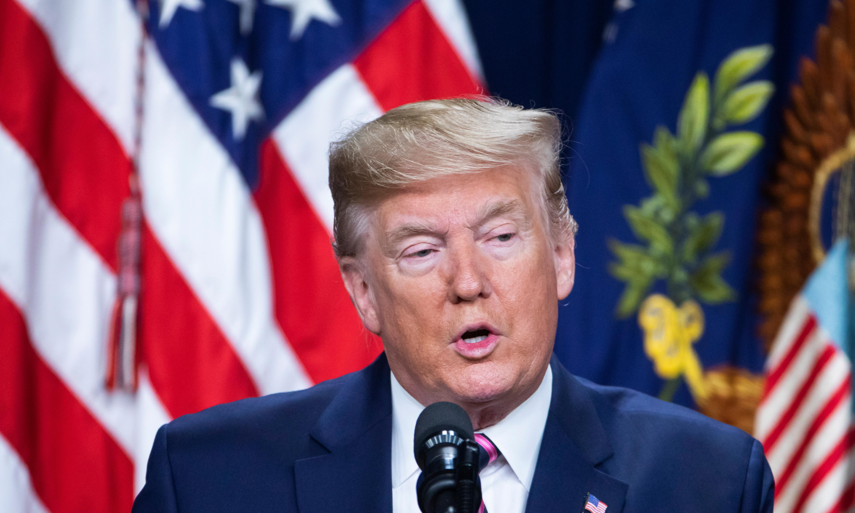 Wall Street hits high as Trump raises hopes of US-China trade deal