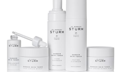 The Dr Barbara Sturm Darker Skin Tones range.