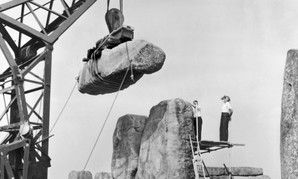 Engineers and craftspeople will dig out concrete used for repairs in 1958 and replace it with more forgiving, breathable lime mortar.