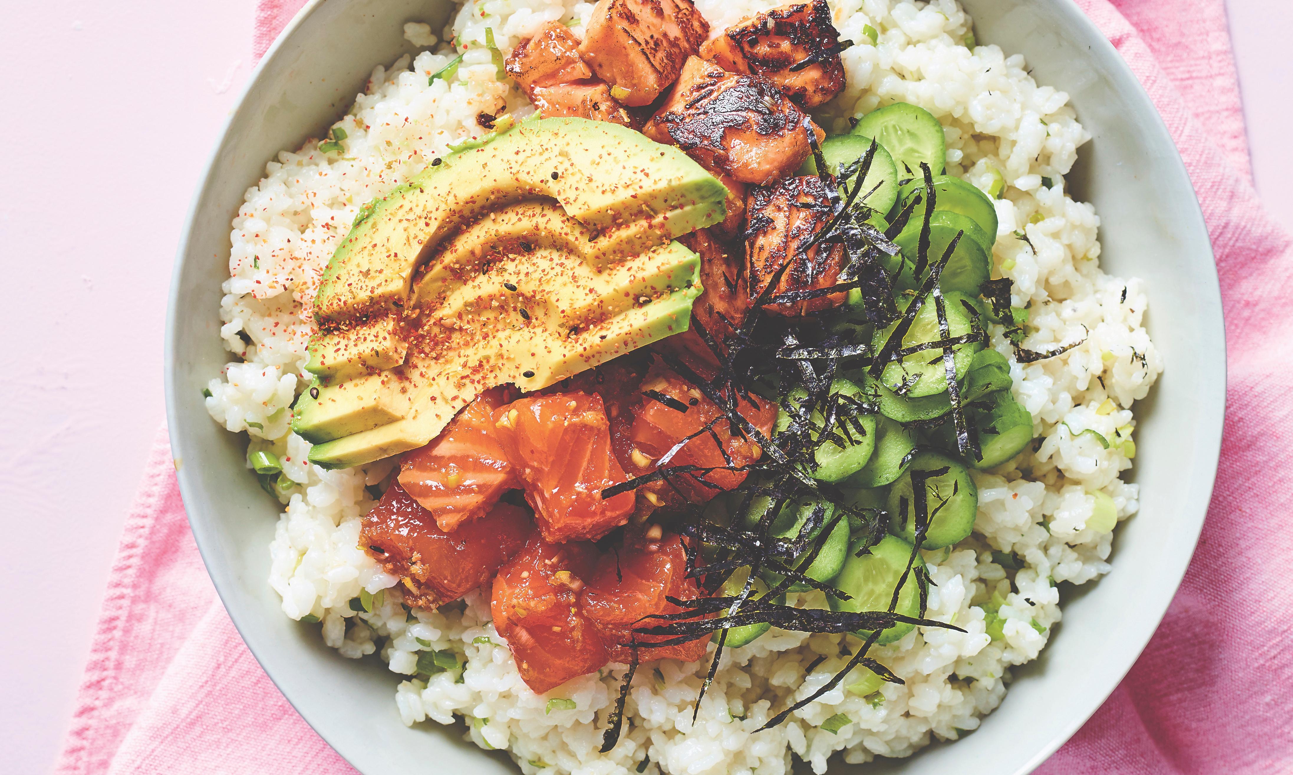 Matt Preston's scorched and raw teriyaki poke recipe