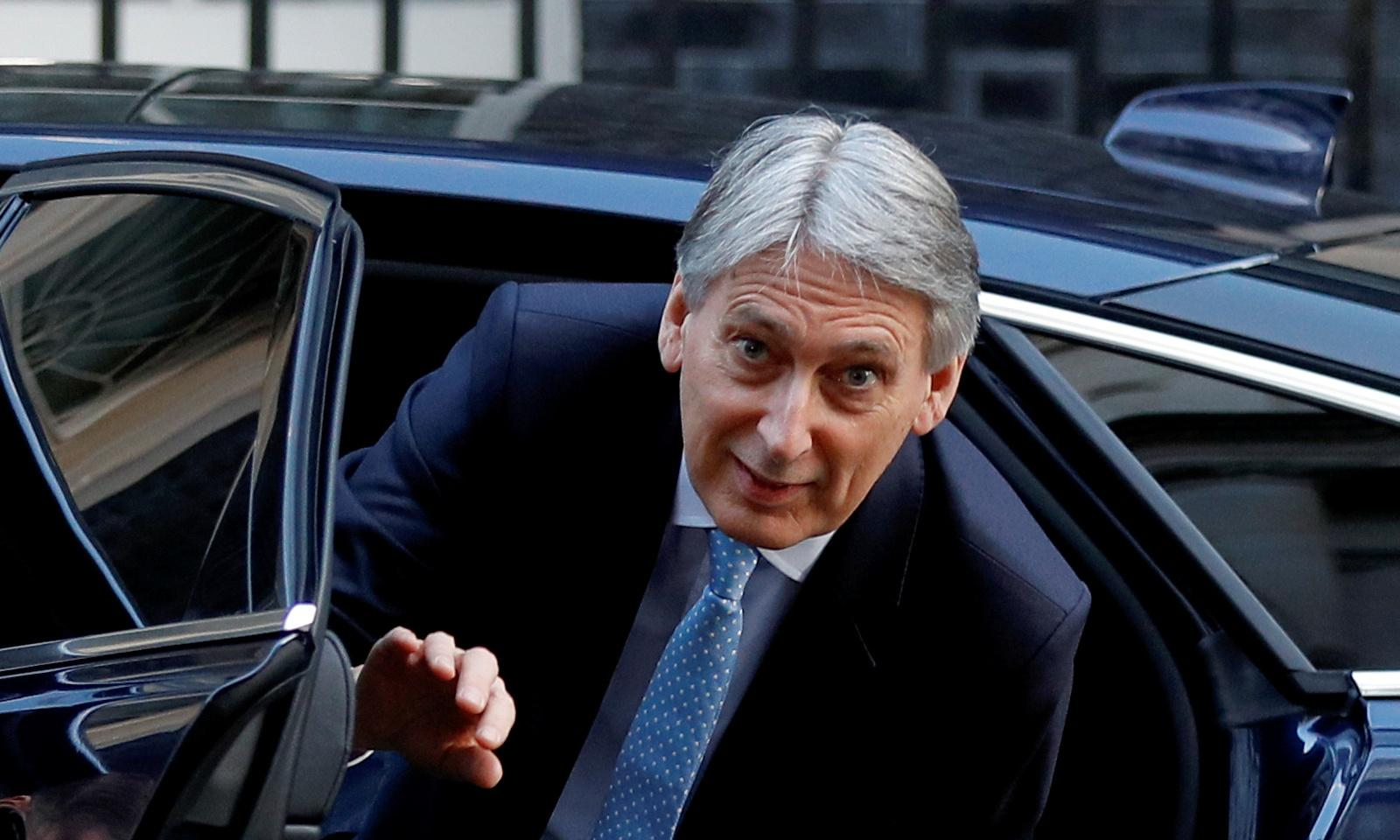 Hammond misses budget target but deficit is at 17-year low