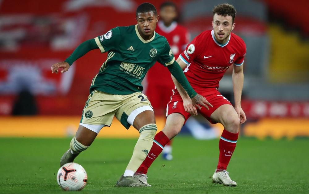 Rhian Brewster (left) is yet to score for Sheffield United following his move from Liverpool.