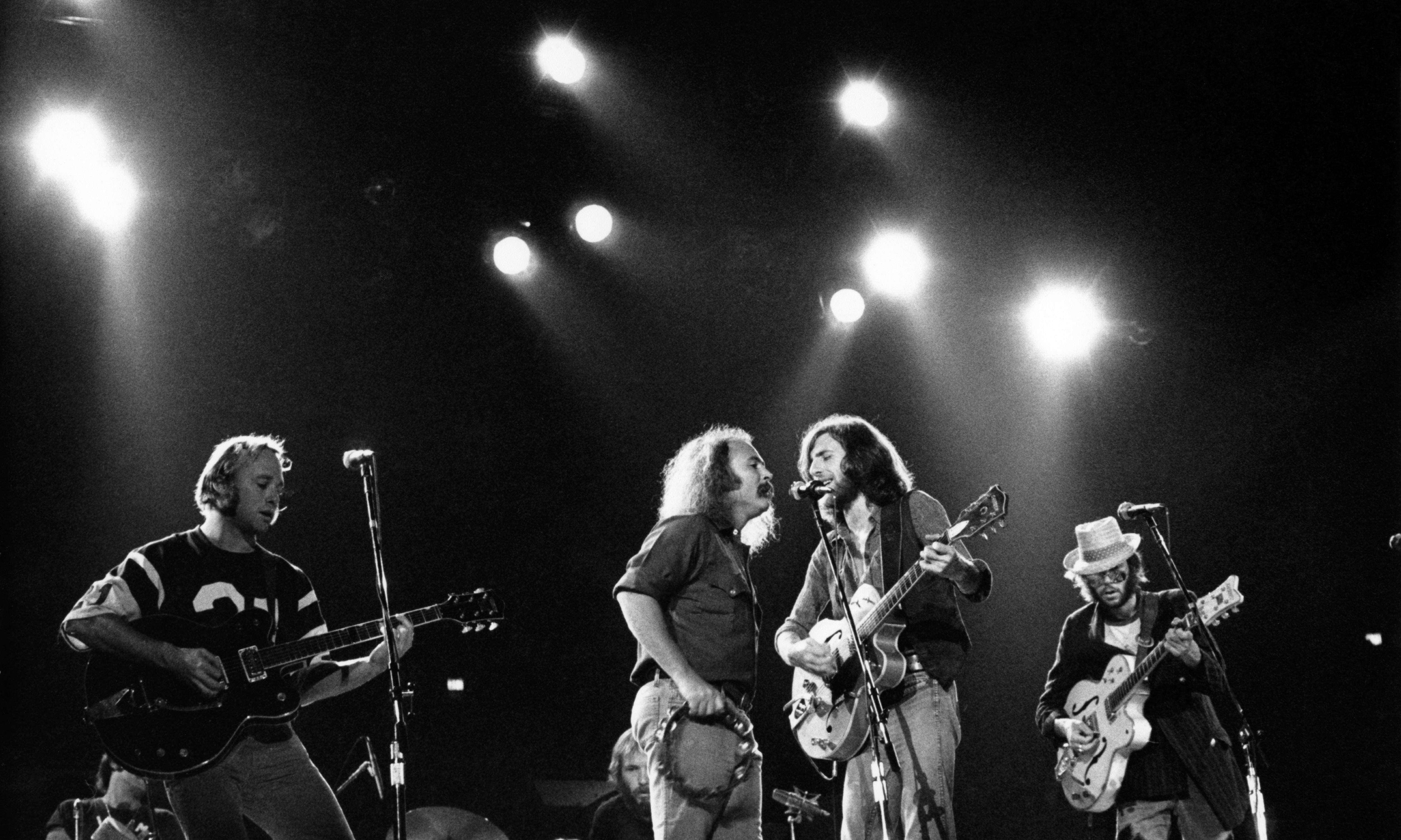 Crosby, Stills, Nash & Young reviews – two books, four highly developed egos
