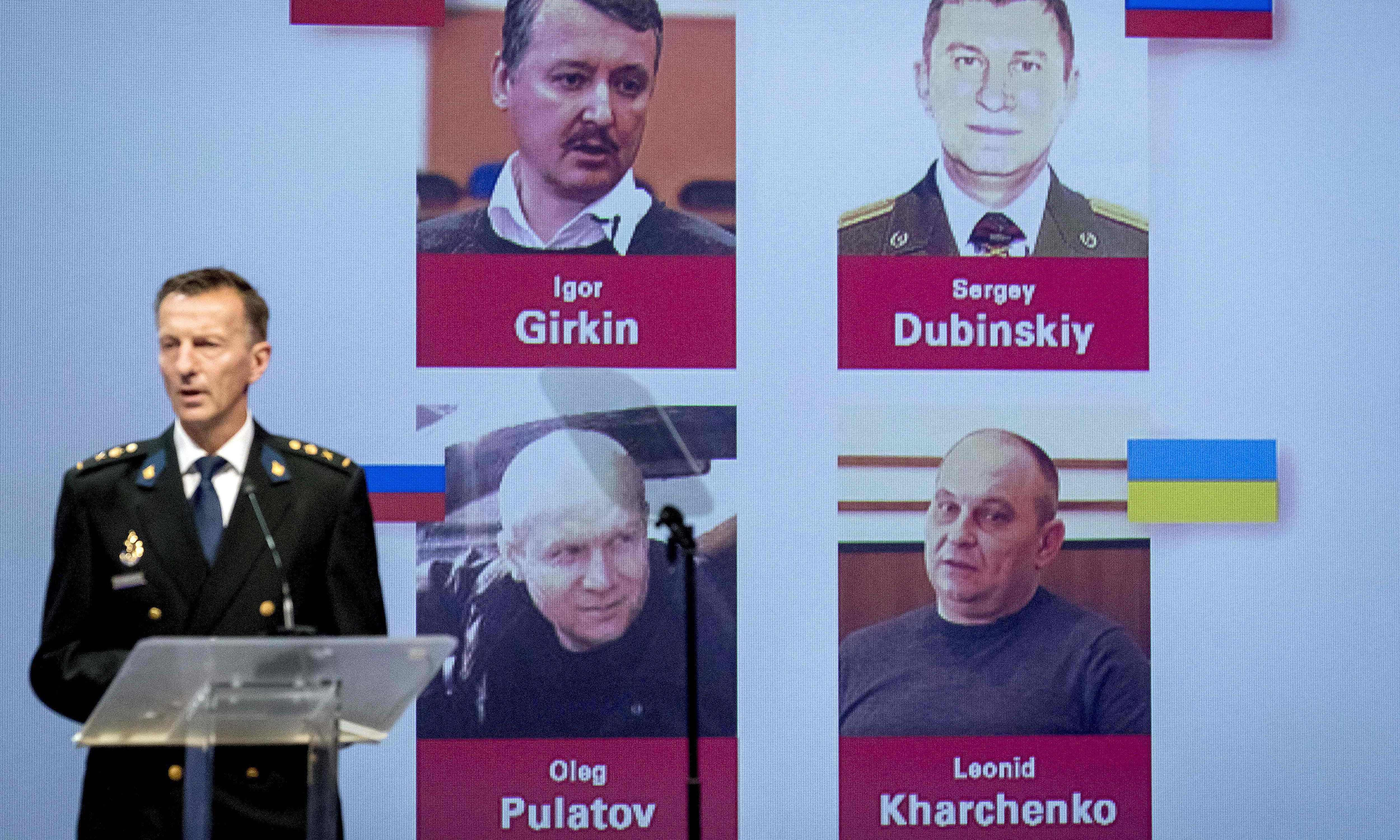 Three Russians and one Ukrainian to face MH17 murder charges