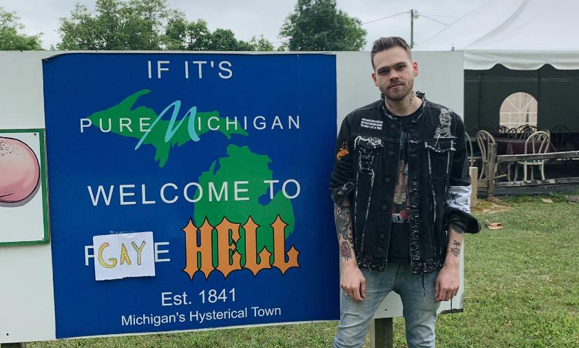 Gay Hell: the Michigan town renamed to troll Donald Trump