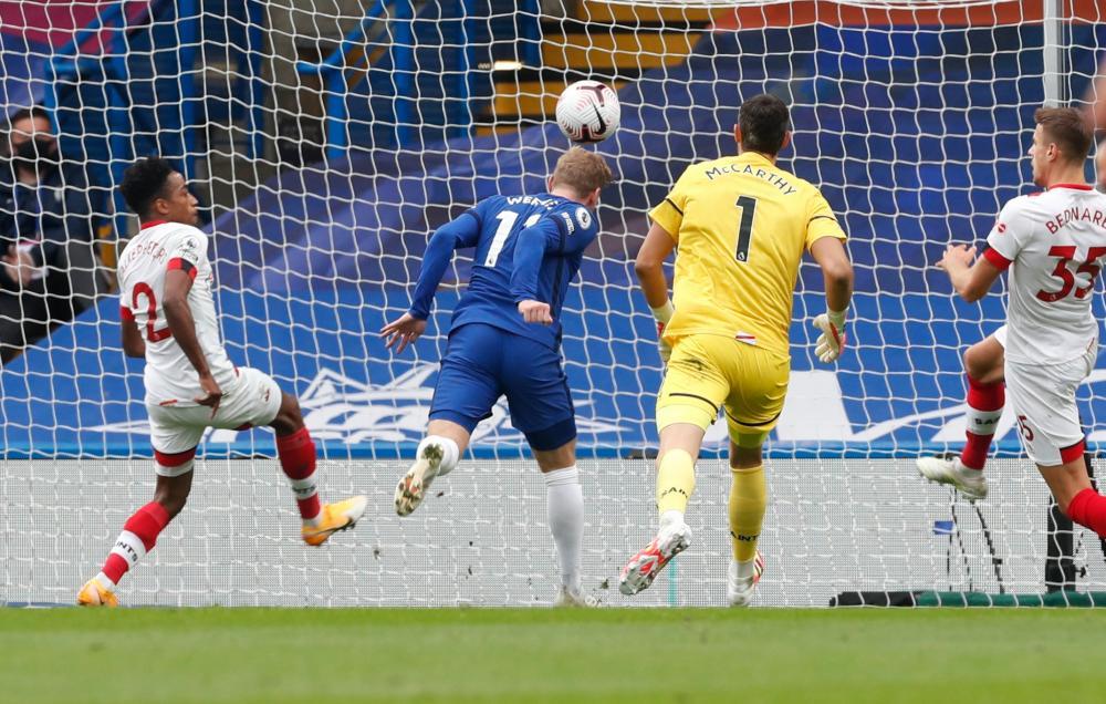 Werner gets his second goal