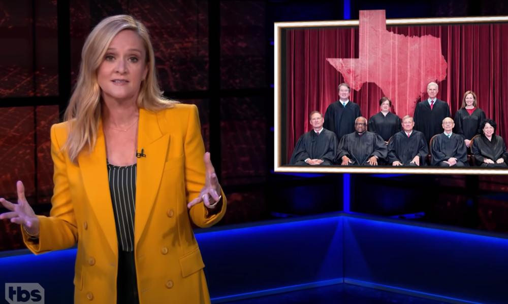 Samantha Bee: 'If you're taking away our reproductive rights, at least own that you're gutless monsters.'