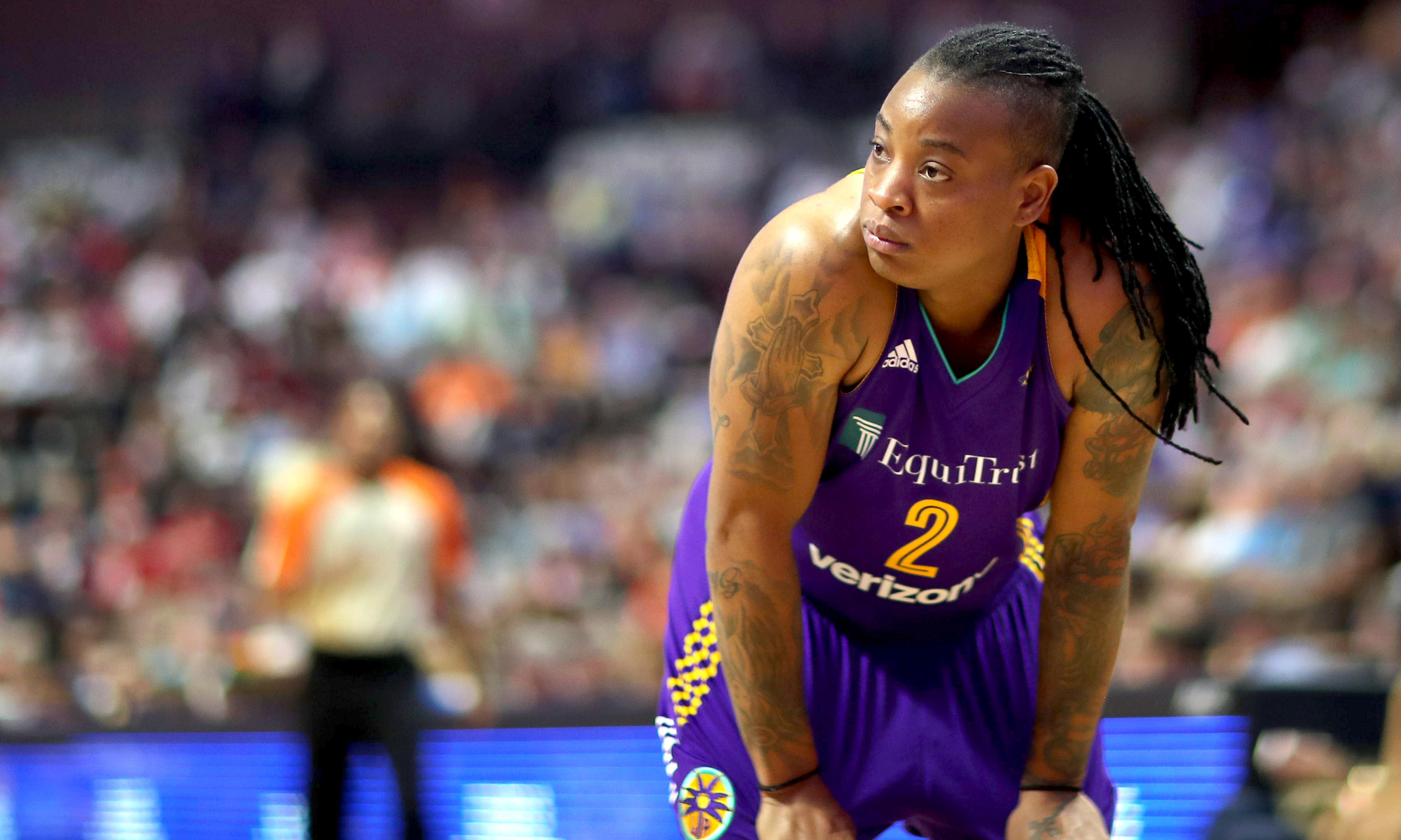 LA Sparks guard Riquna Williams suspended 10 games for domestic violence incident