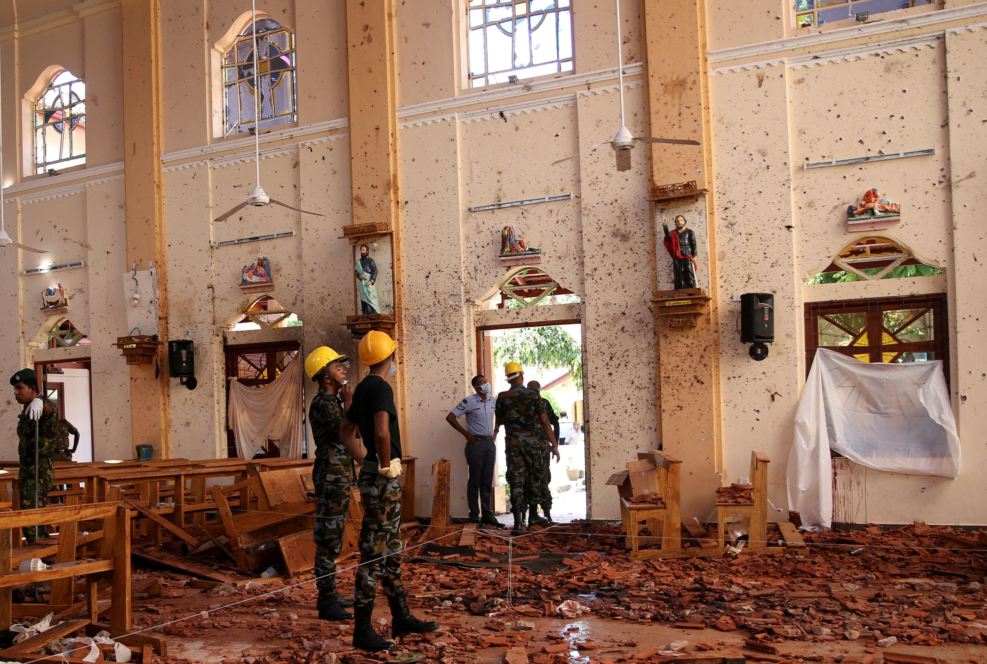 Sri Lanka authorities were warned of attacks two weeks ago, says minister