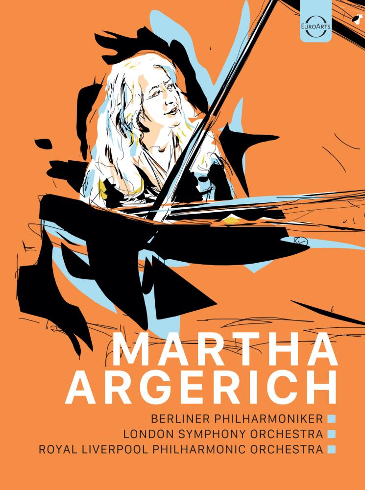 Martha Argerich DVD cover art.