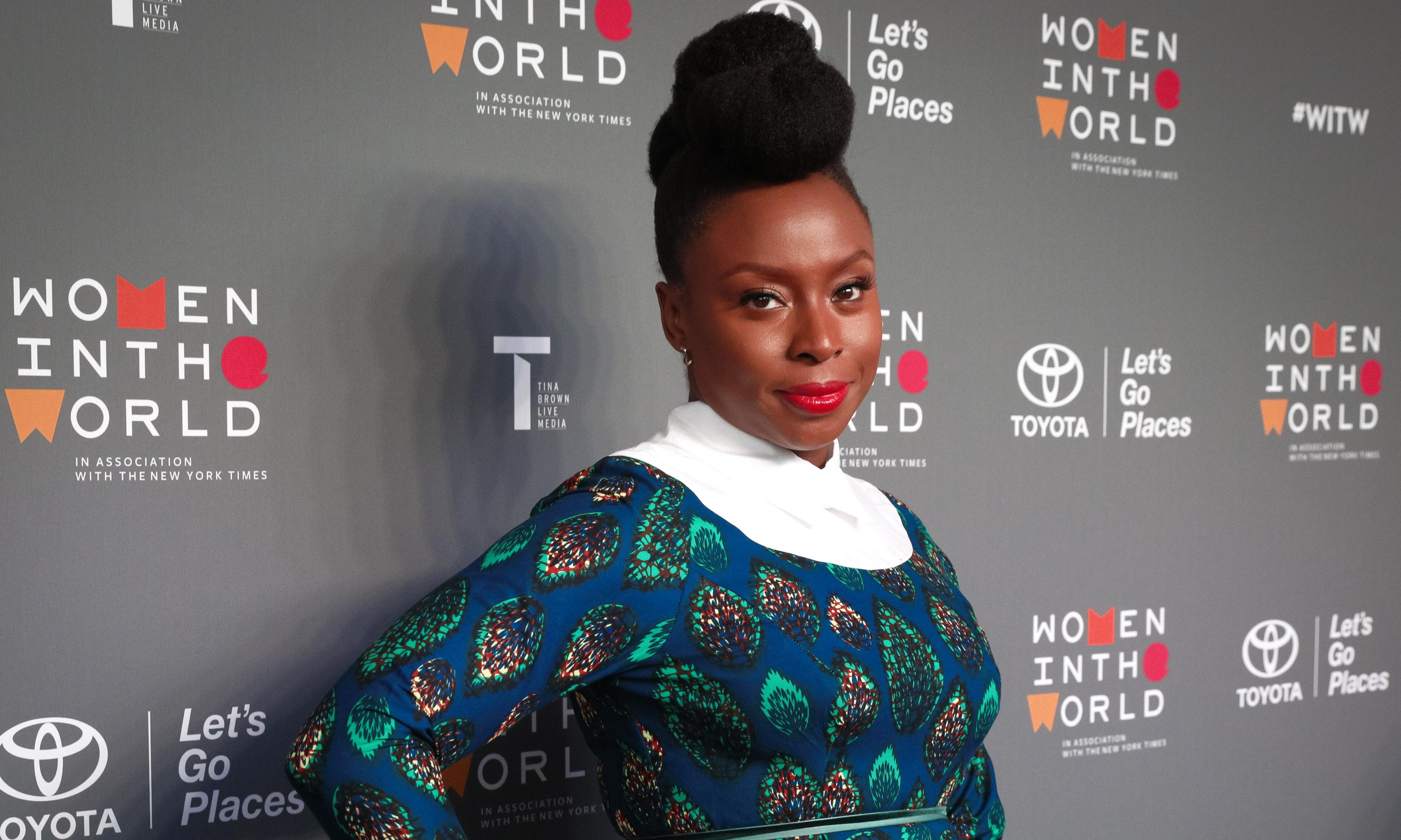 Chimamanda Ngozi Adichie accepts PEN Pinter prize with call to speak out